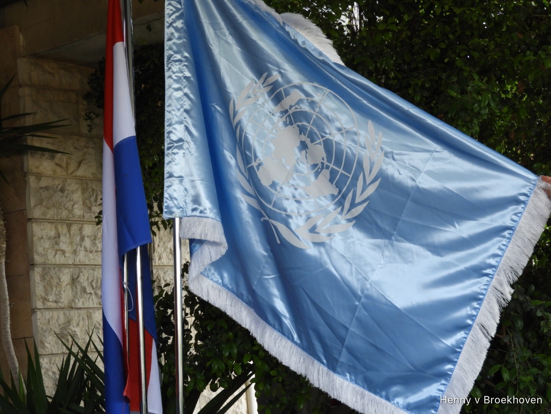 Un flag by Henny van Broekhoven
