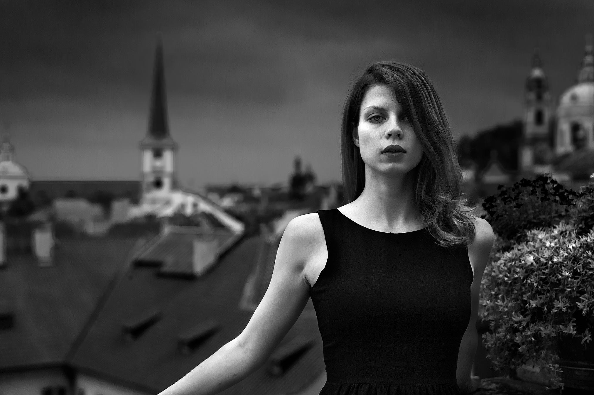 Veronika in Prague by RJPoole