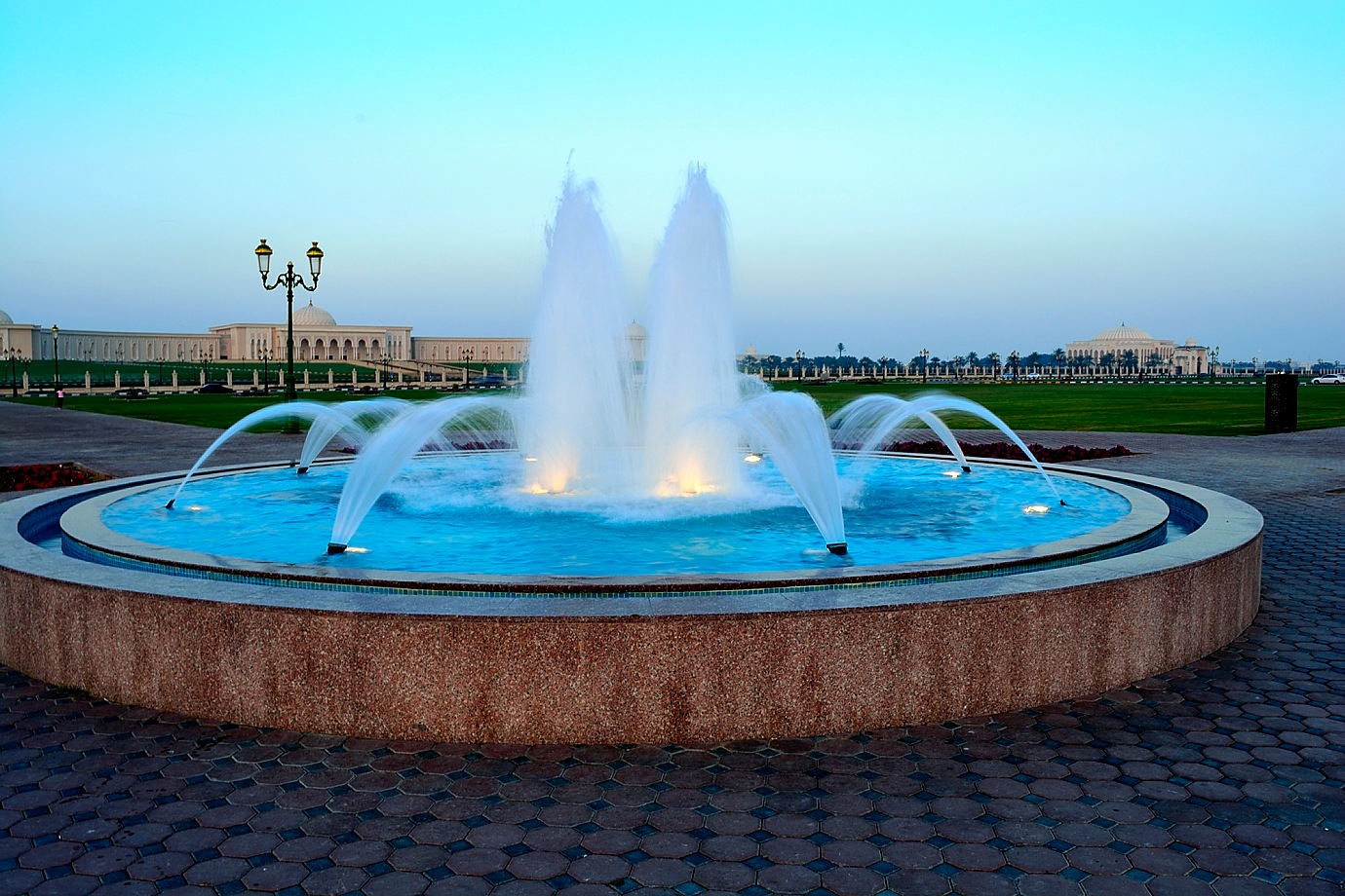 A fountain by Muhammad Azeem
