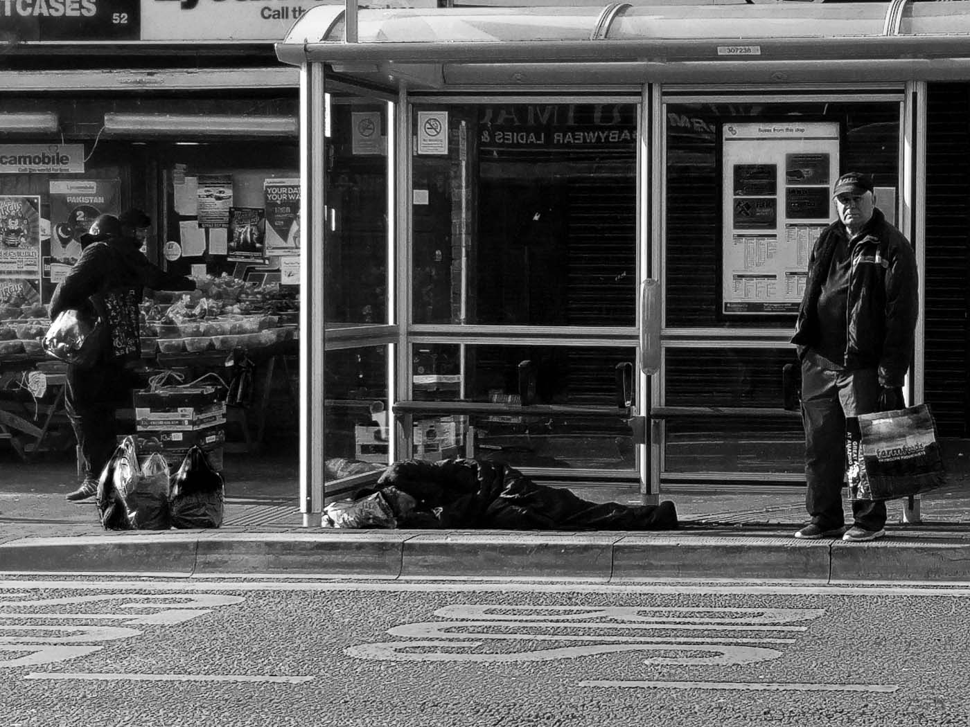 Sleeping Rough by meltography