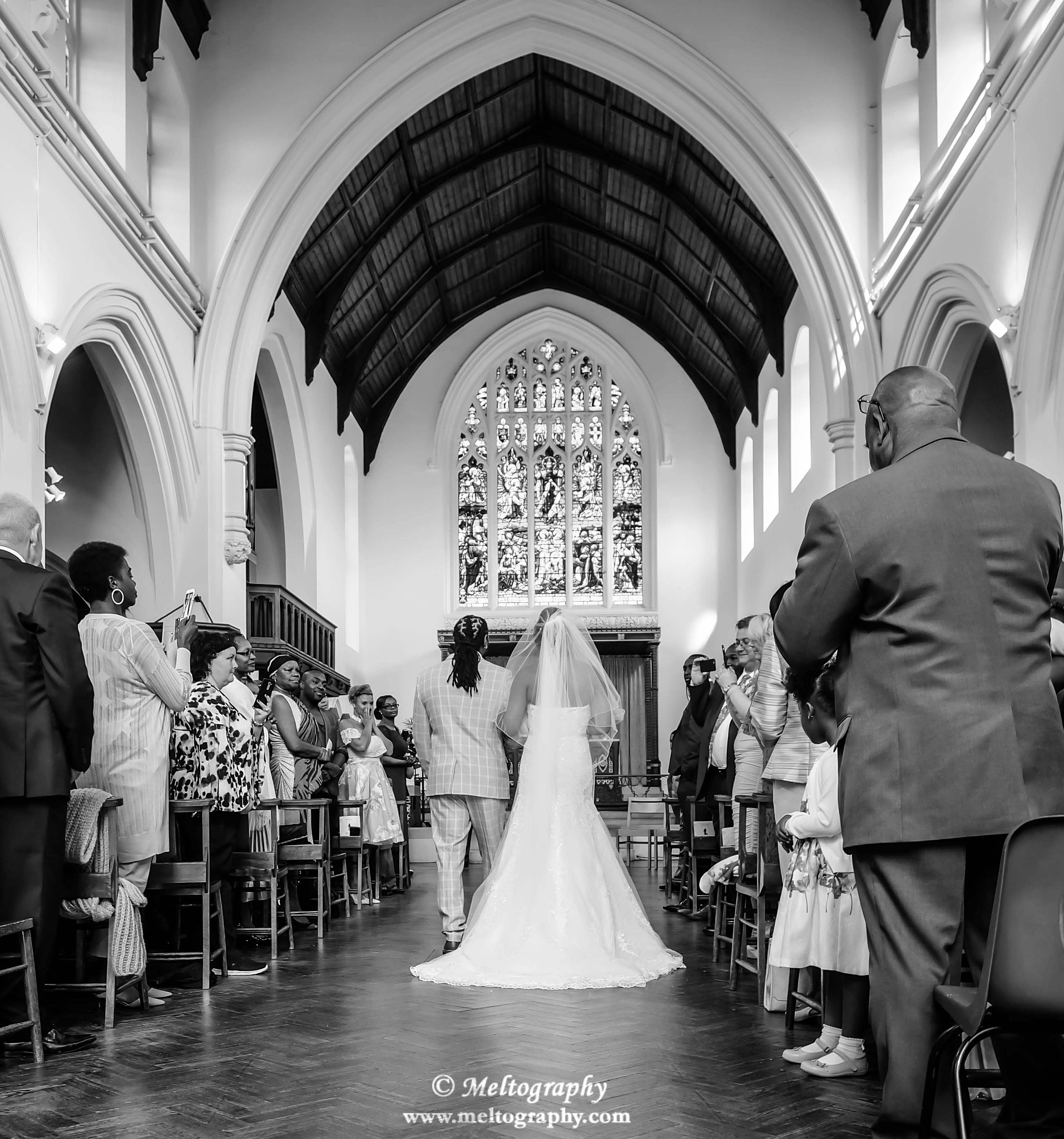 There Goes The Bride by meltography