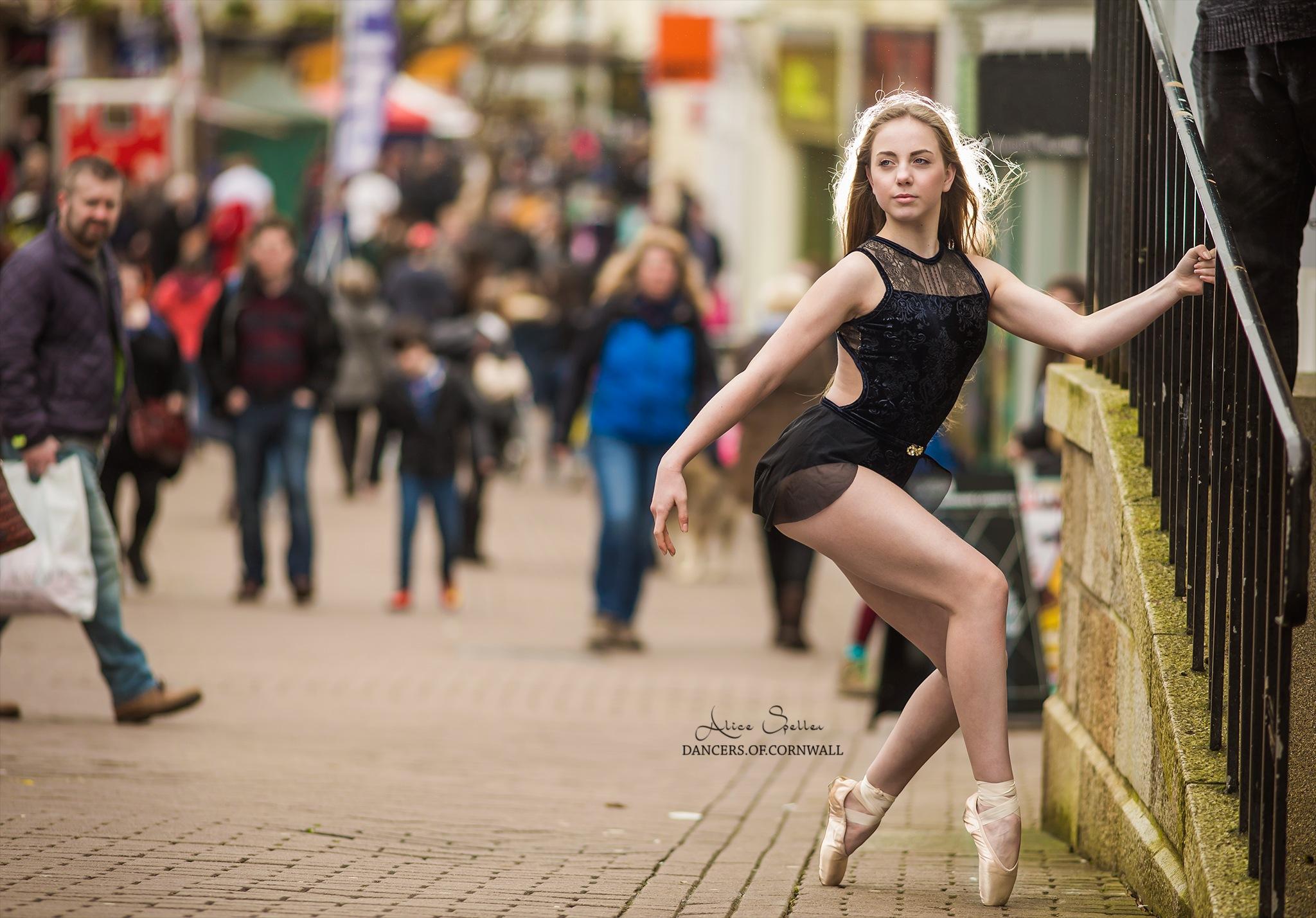 Dancers of Cornwall in Truro by Alice Speller