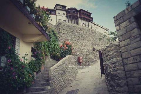 Baltit fort, Hunza, Gilgit Baltistan by Imran Ali Chaudhry