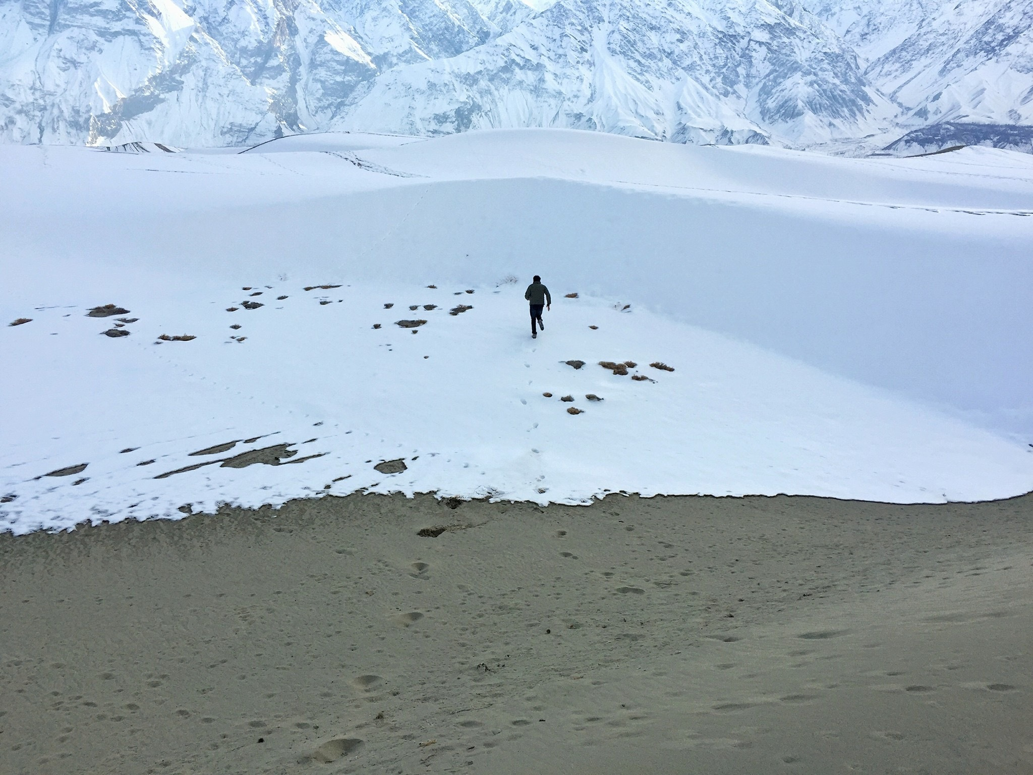 Cold Desert with snow in Pakistan only  by Imran Ali Chaudhry