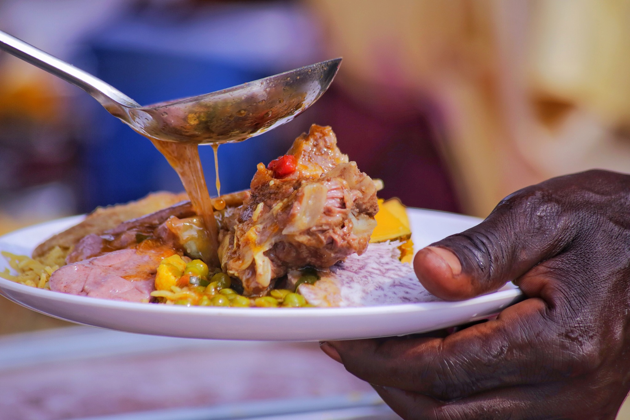 More Soup please  by James Wasswa