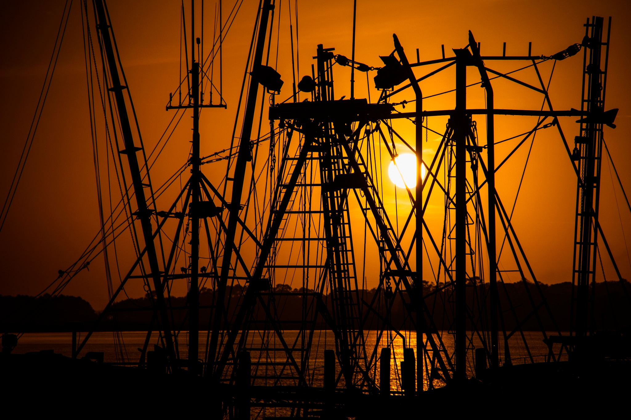 The Sails and Sun by Keith Wood