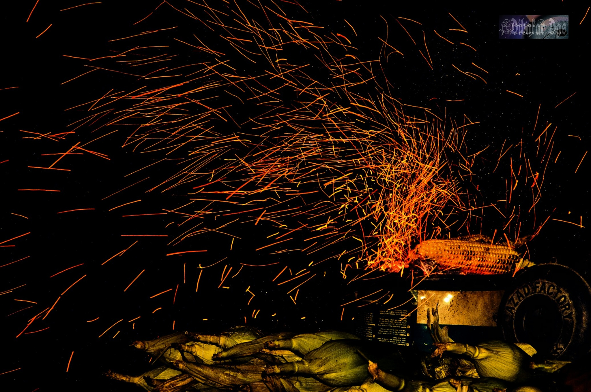 Fireworks Display Of The Way Of This by Dibakar Das