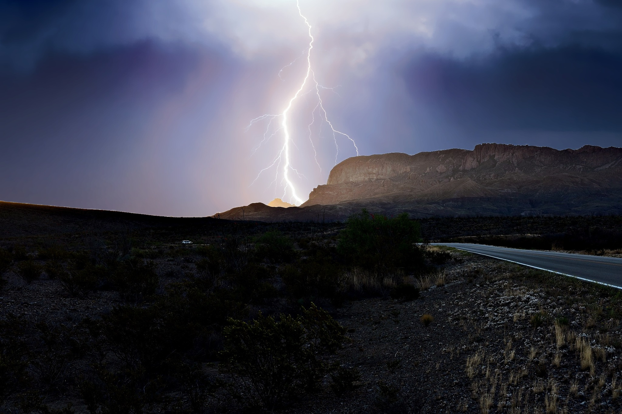 Storm in the High Desert by Fred Phipps