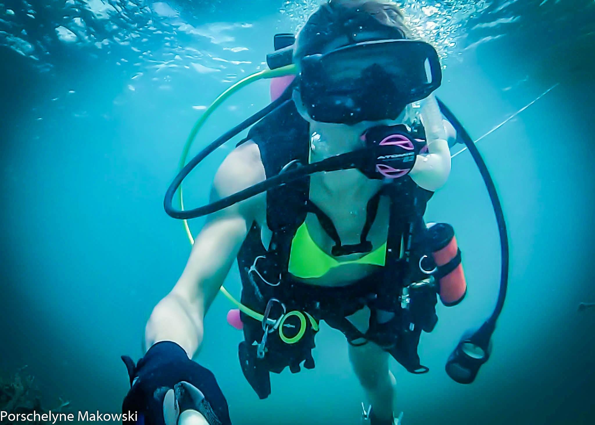 scuba by Zoey Makowski
