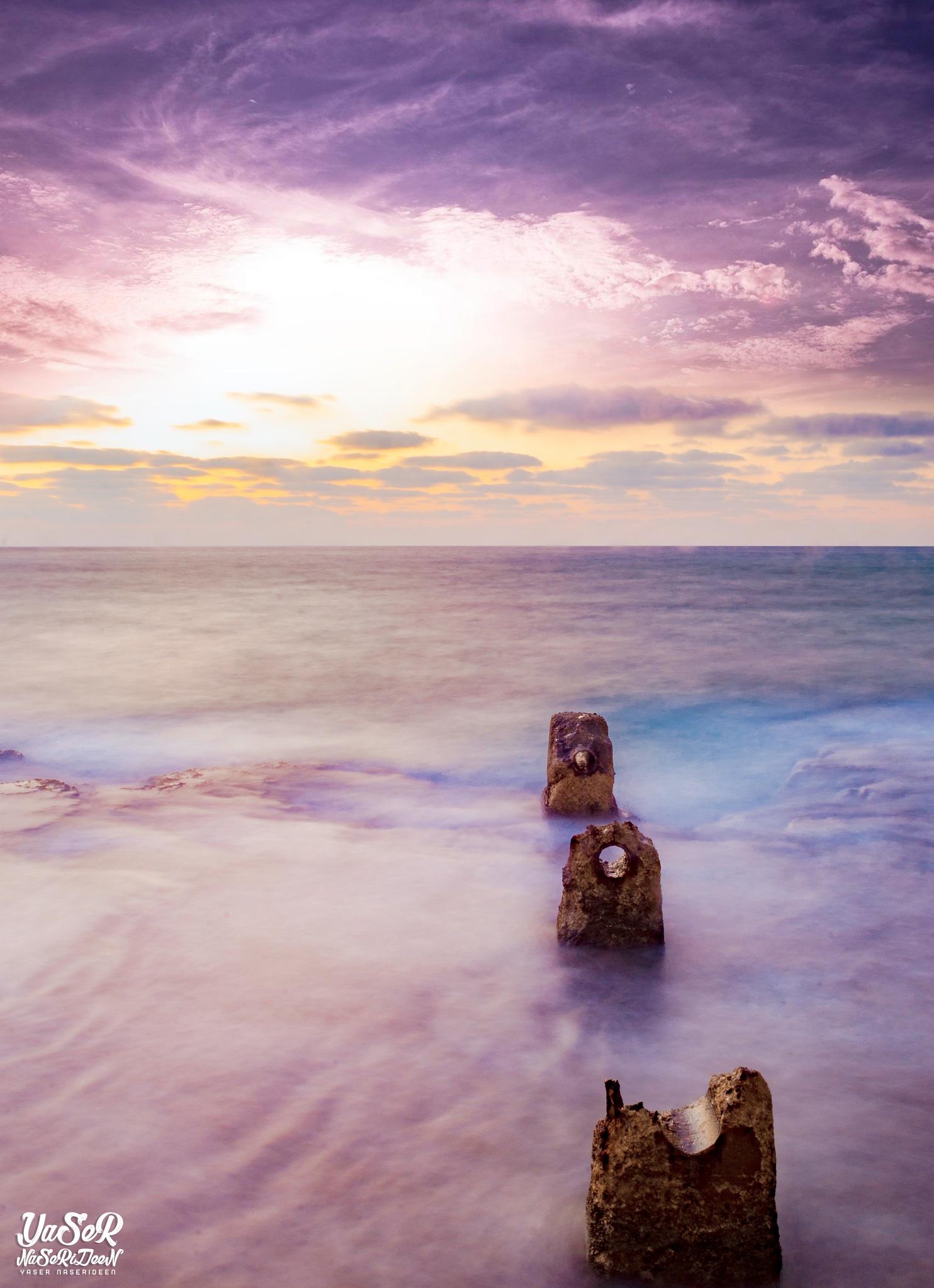 Jaffa Sea by Yaser Naserideen