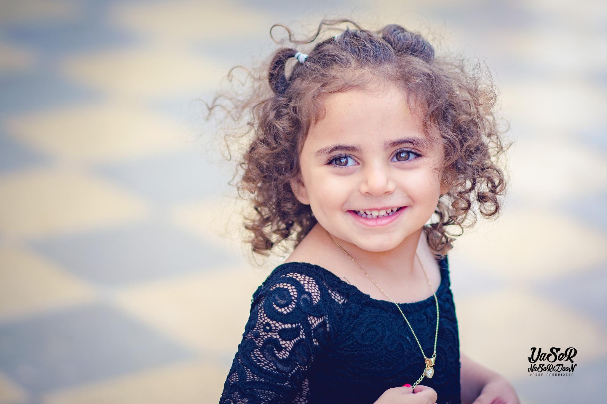 cute girl by Yaser Naserideen