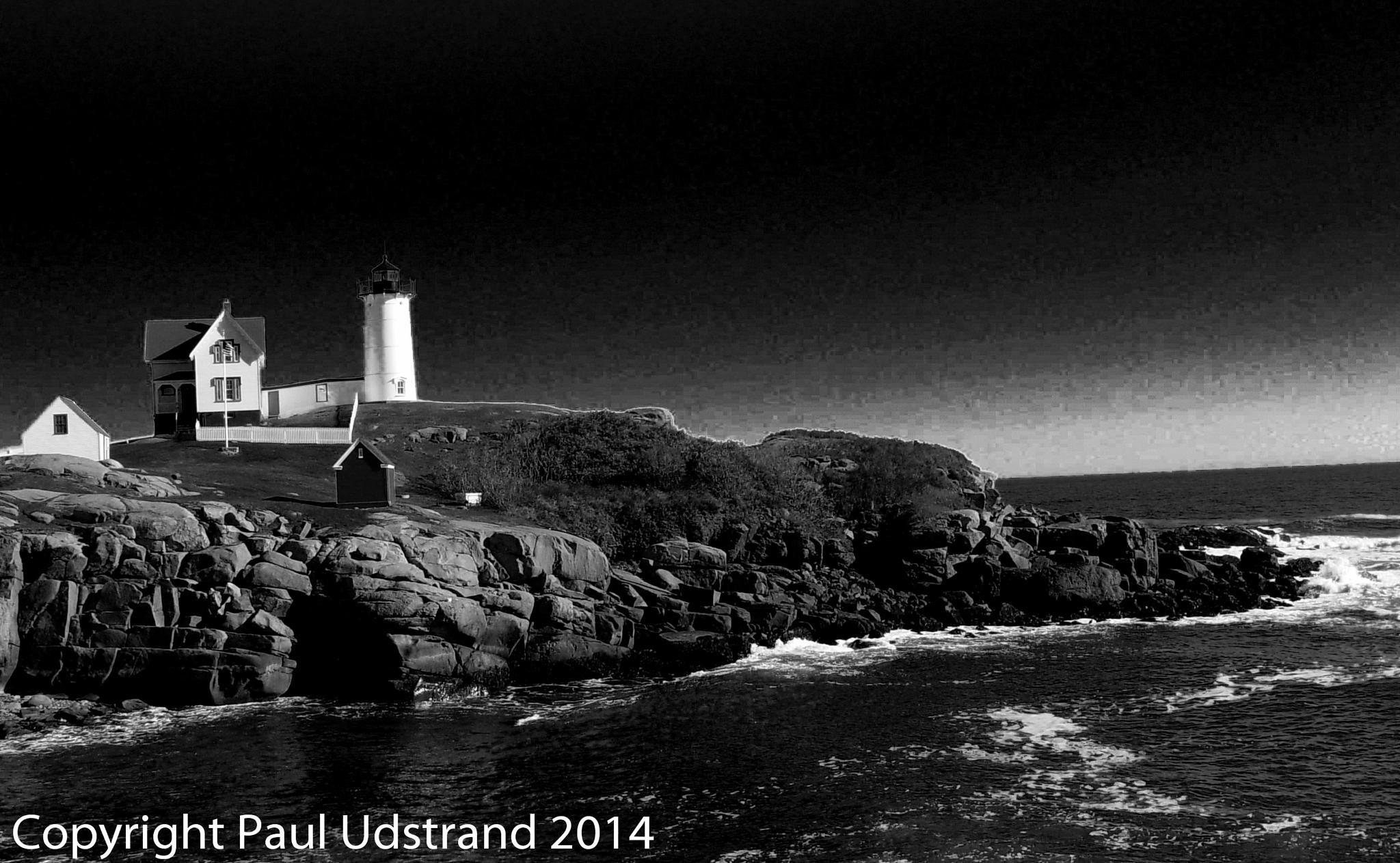 Dark Lighthouse by Paul Udstrand