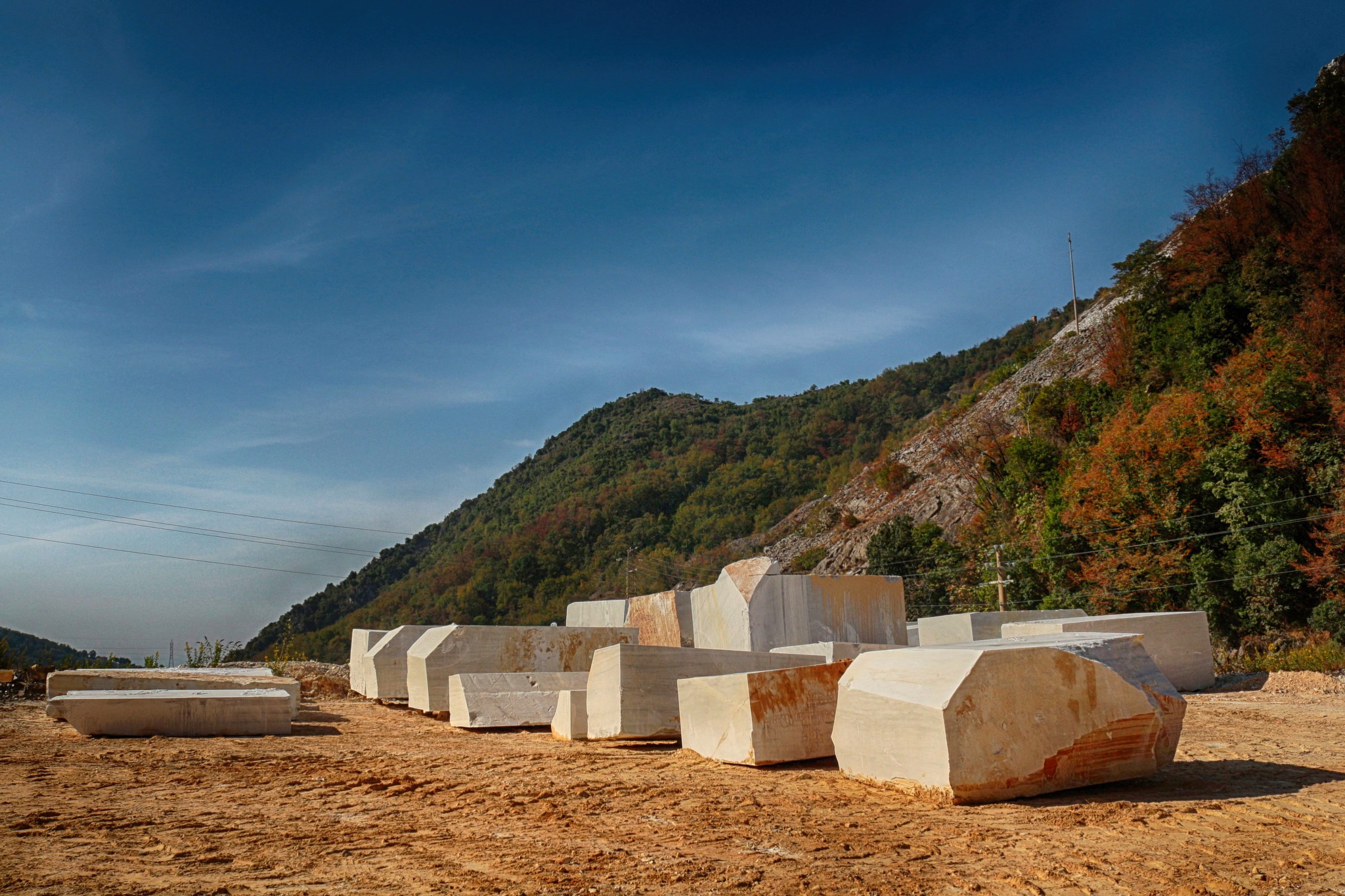 Marble blocks by marco58
