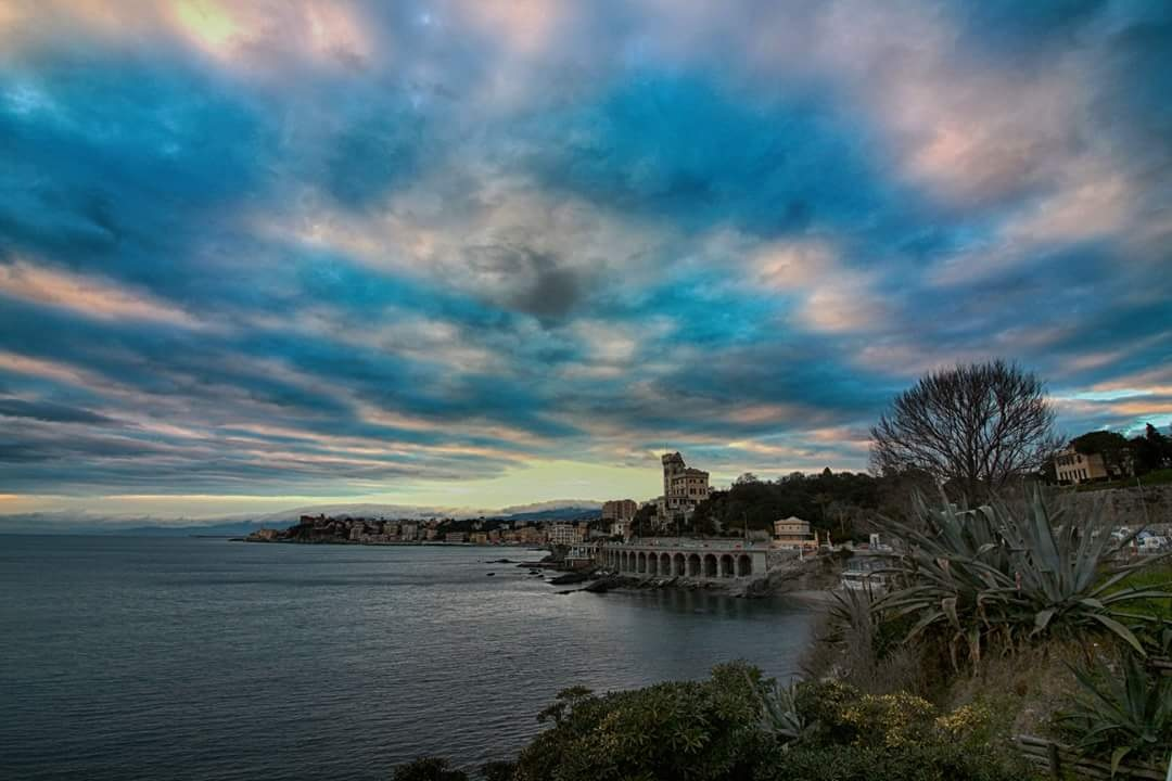 Real sky... over Genoa  by marco58
