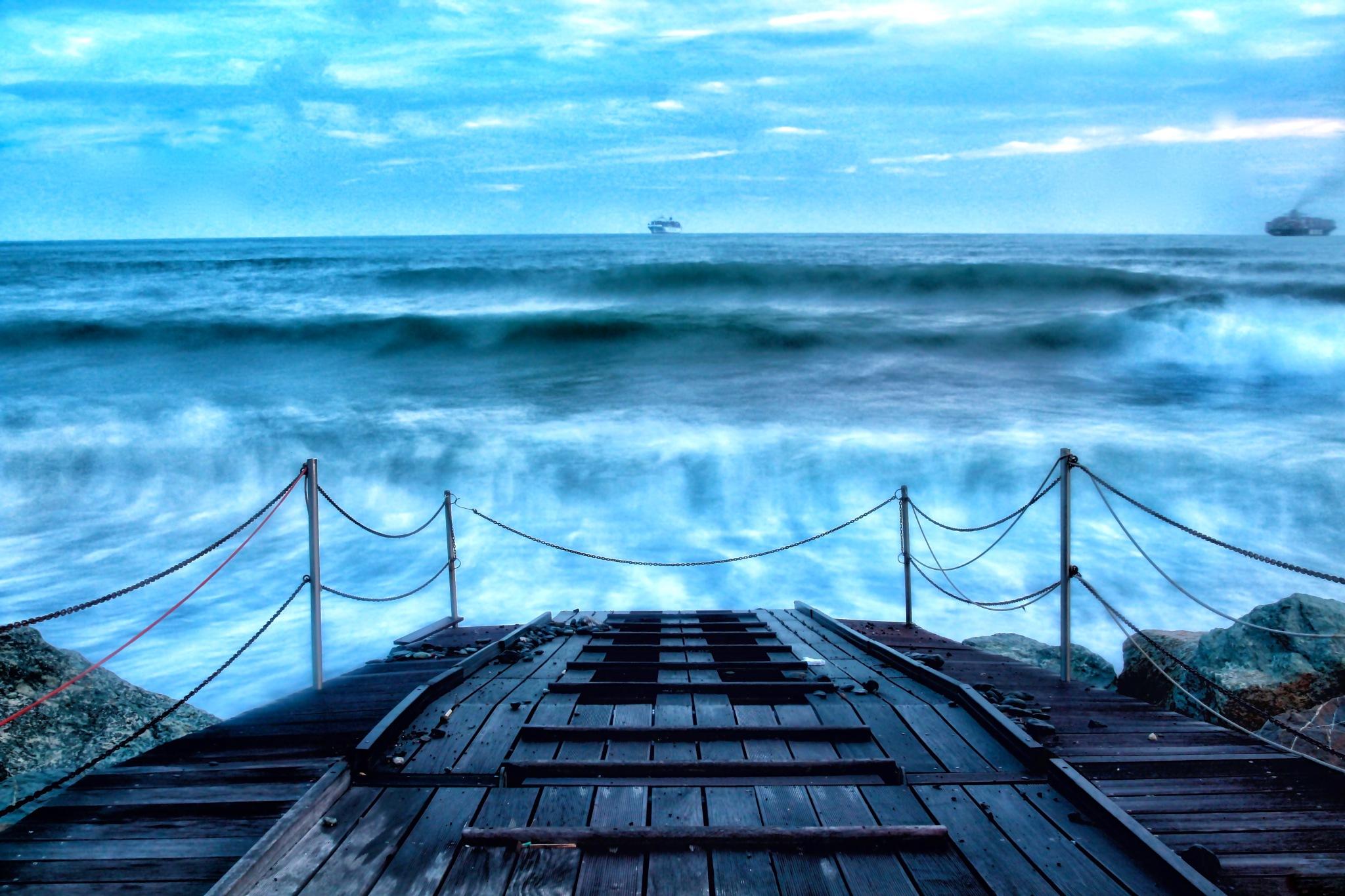 As a tsunami... by marco58