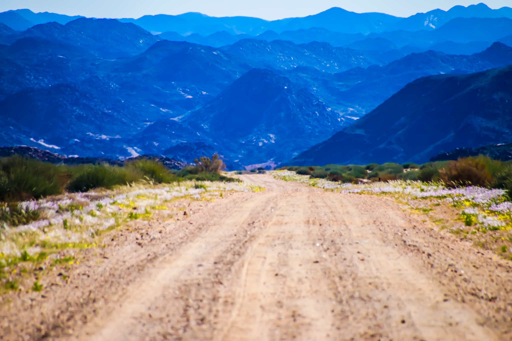Mountain range Namakwa by TsemojaPhotography