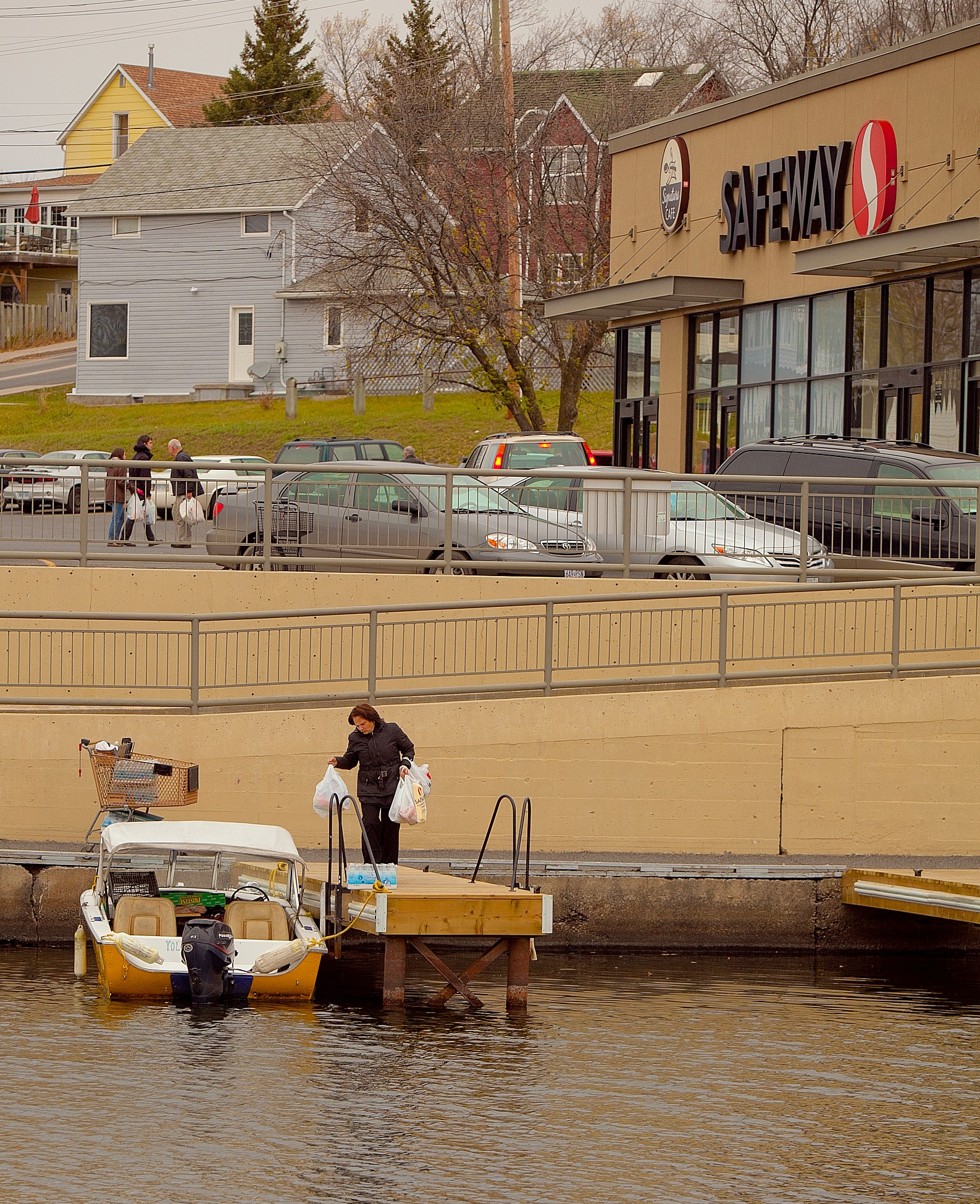 Grocery Shopping in Northern Ontario - by boat... by Kevin Palmer RPM