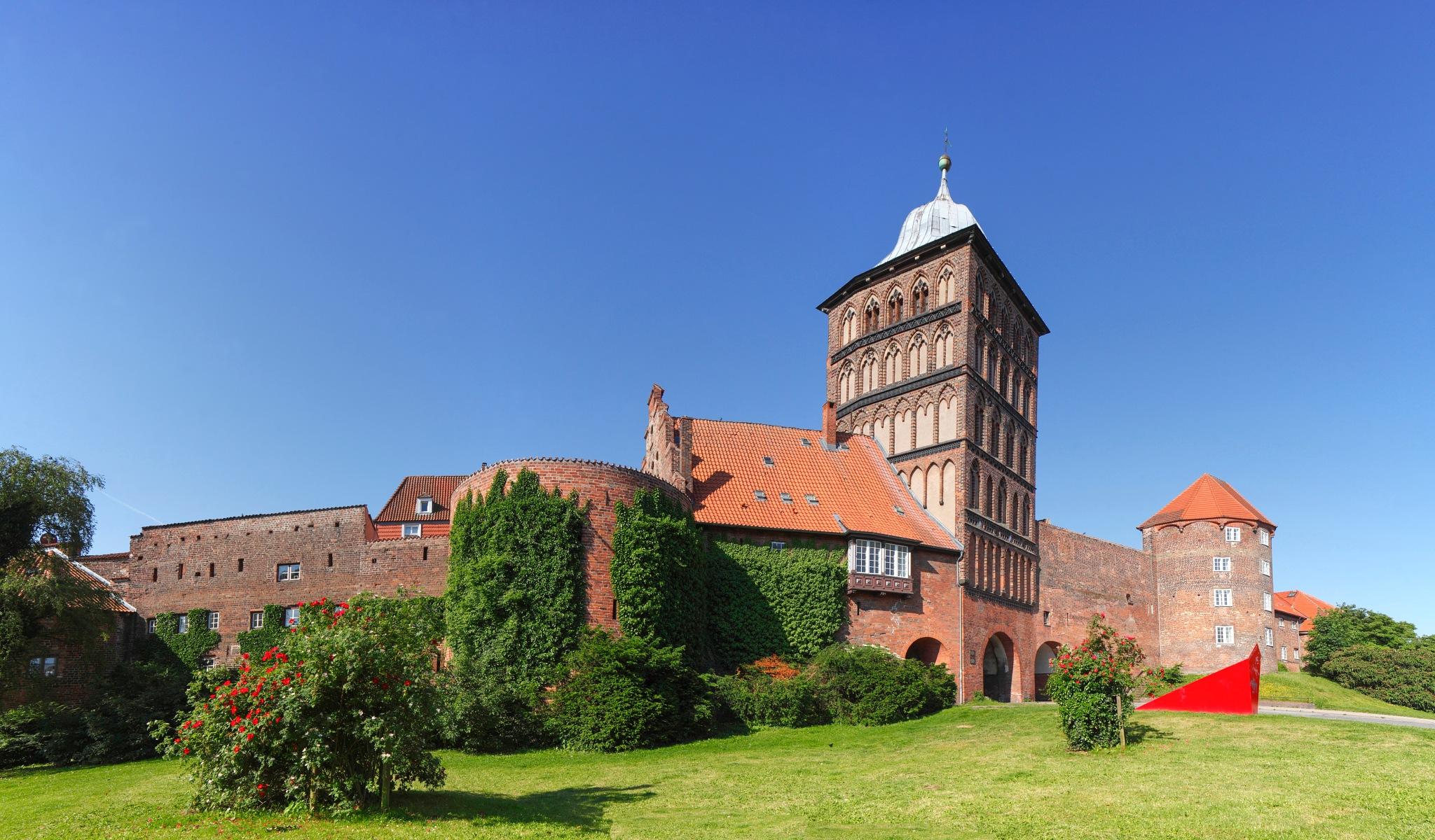 Burgtor, Luebeck by Torsten Krüger