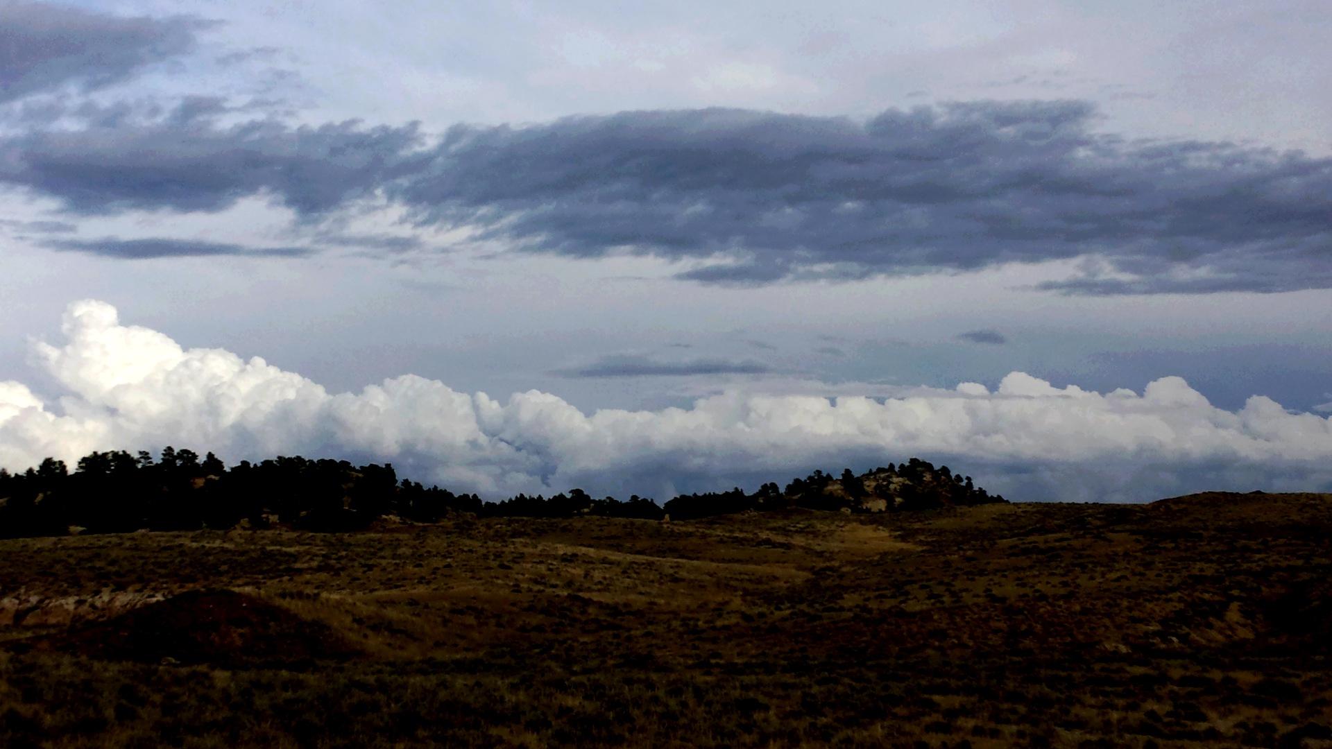 Storm Clouds by Carole Martinez