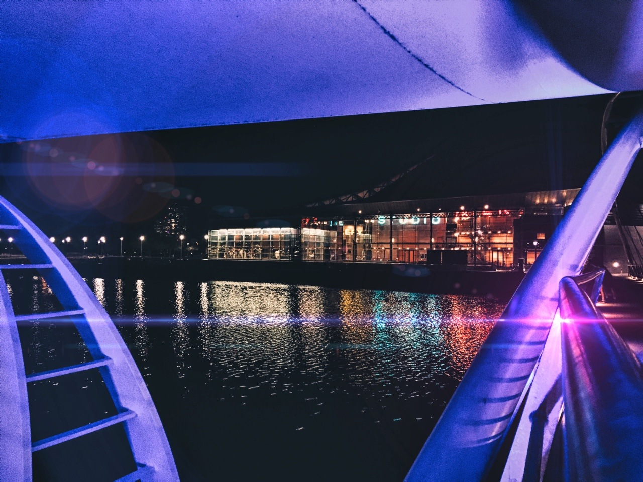 Vibrant Lake by Adri Torres