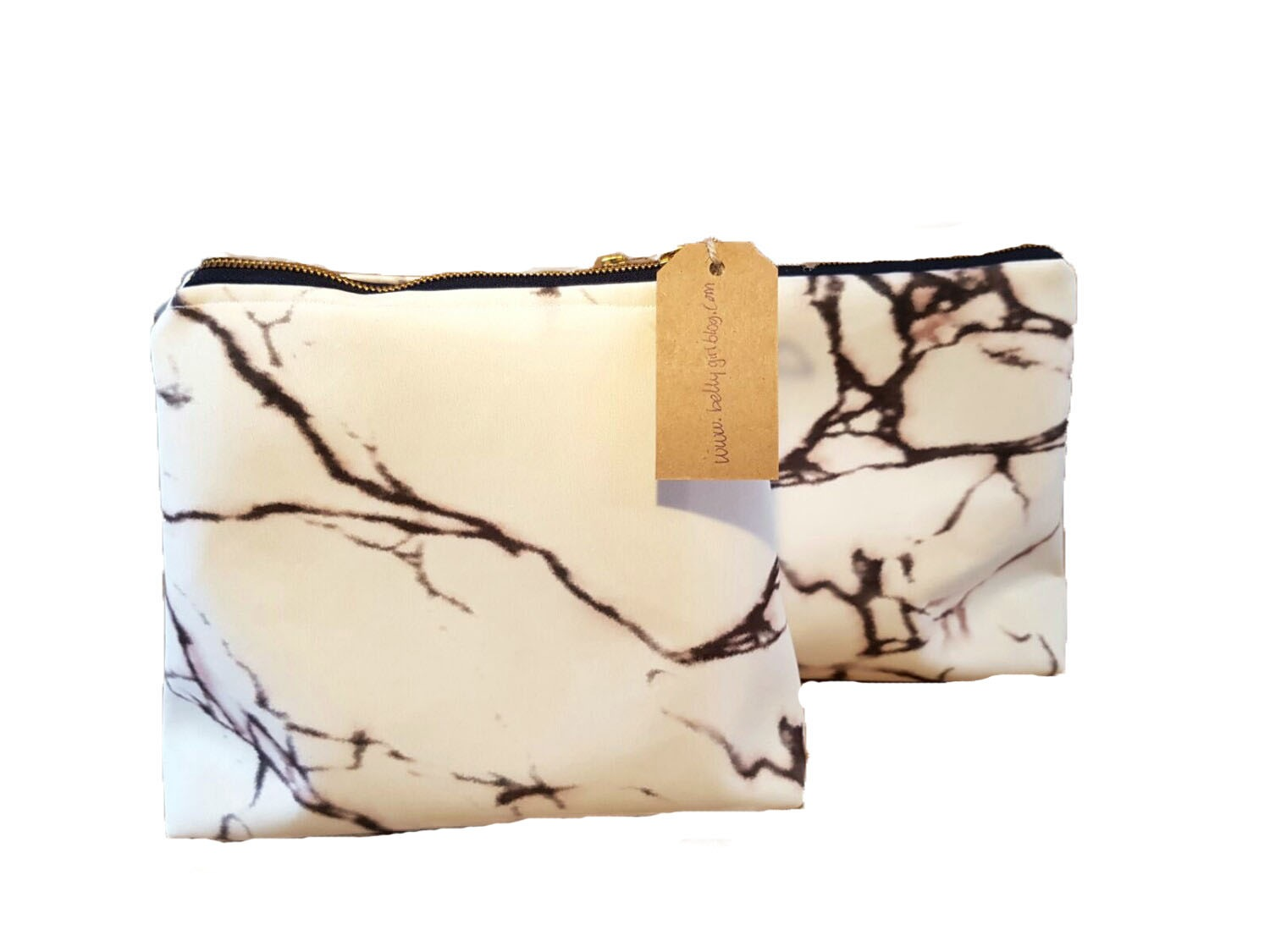 Hand made Marble bags by Iris Gerits