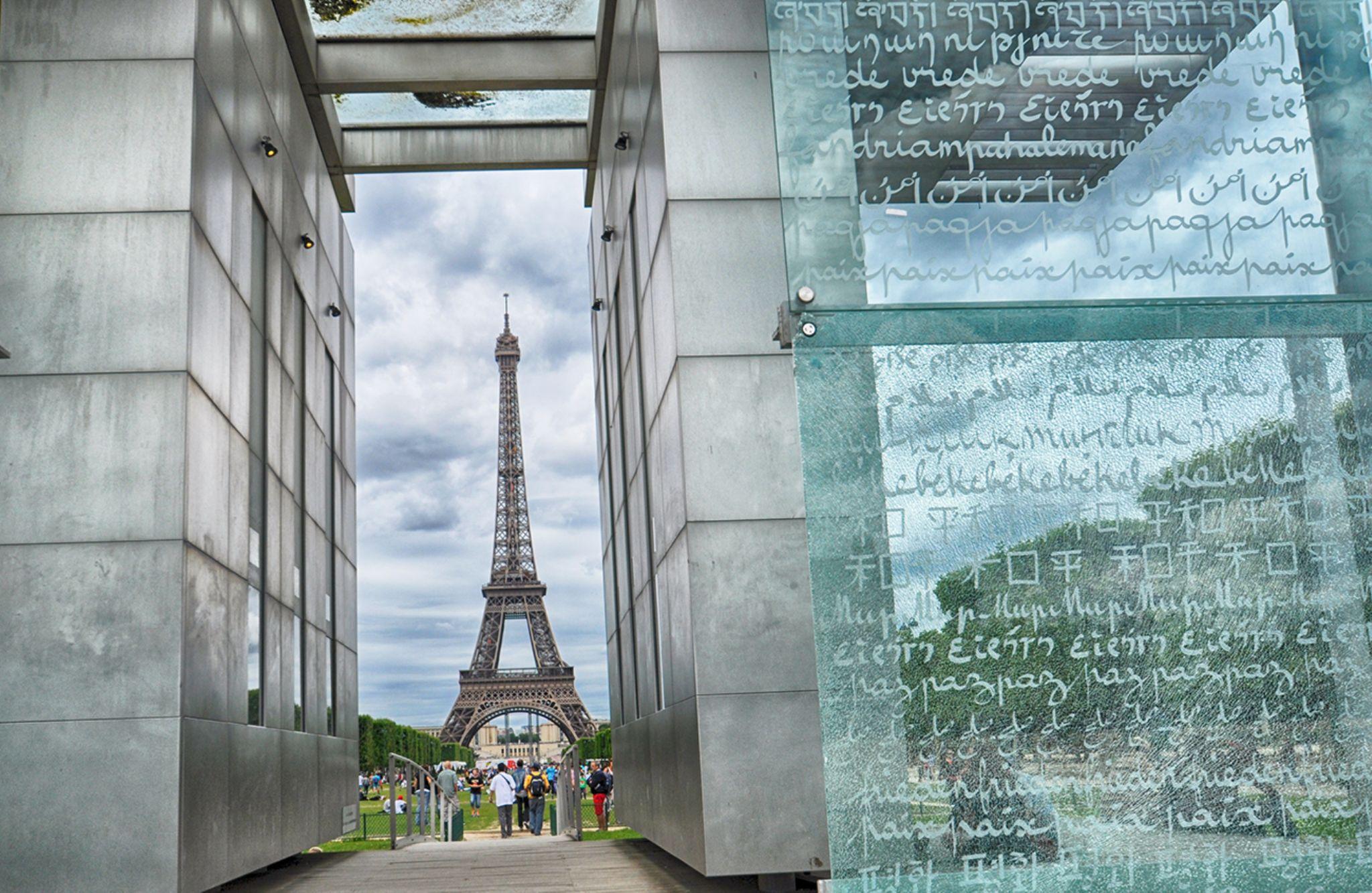 The Champ de Mars peace monument  by Abdurrahman Aksoy