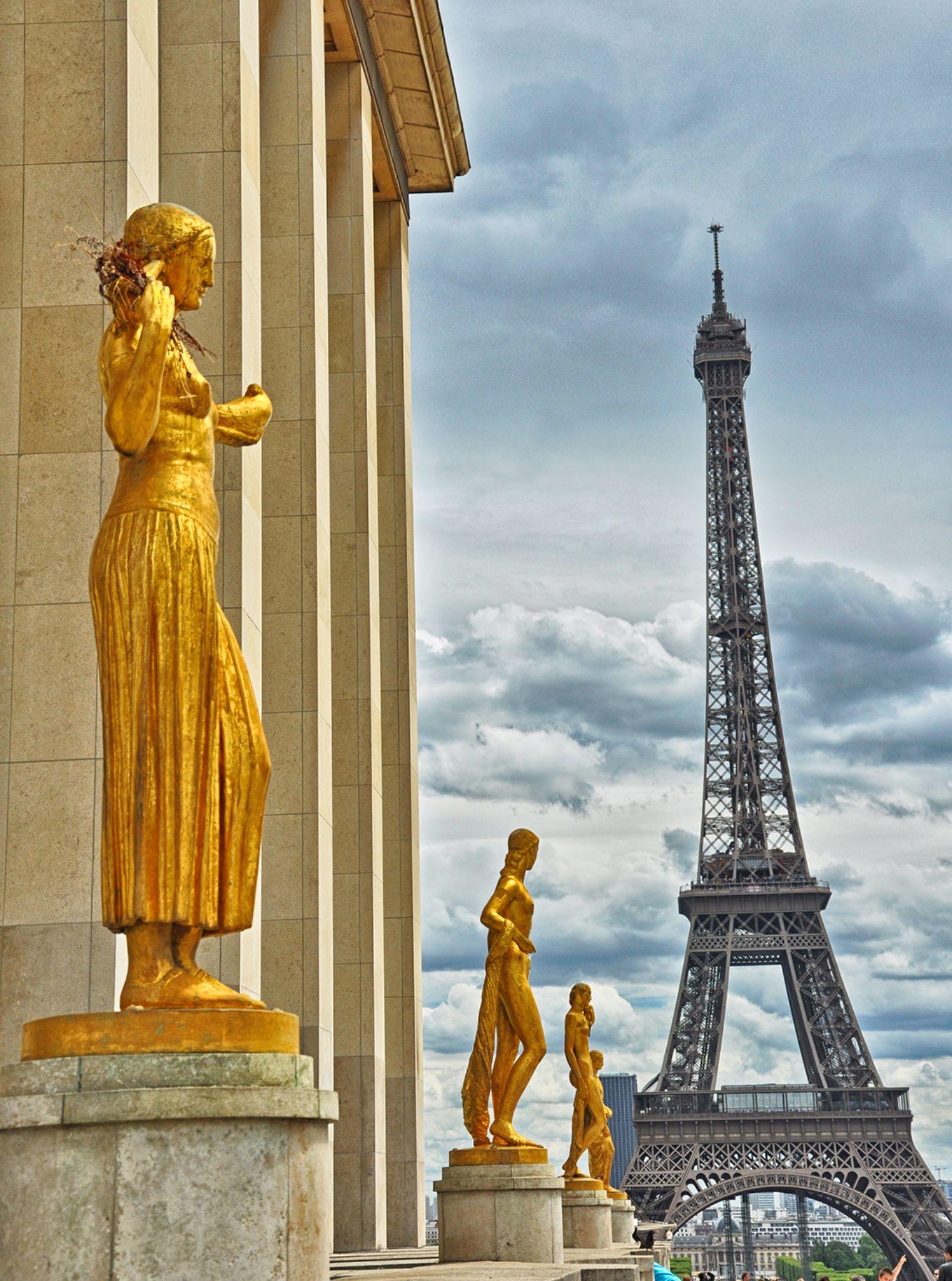 Eiffel from Trocodoro by Abdurrahman Aksoy