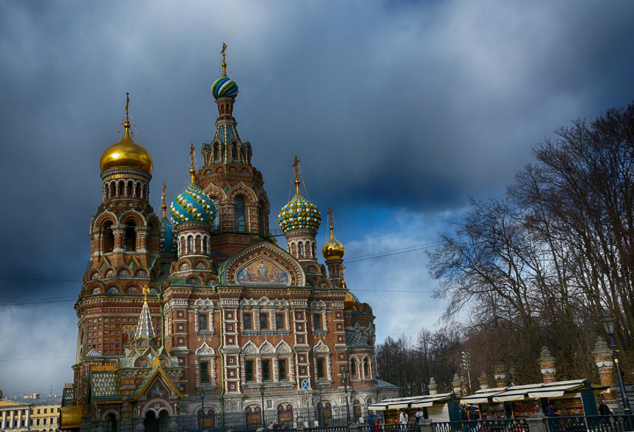 The Church of the Savior on Spilled Blood by Abdurrahman Aksoy