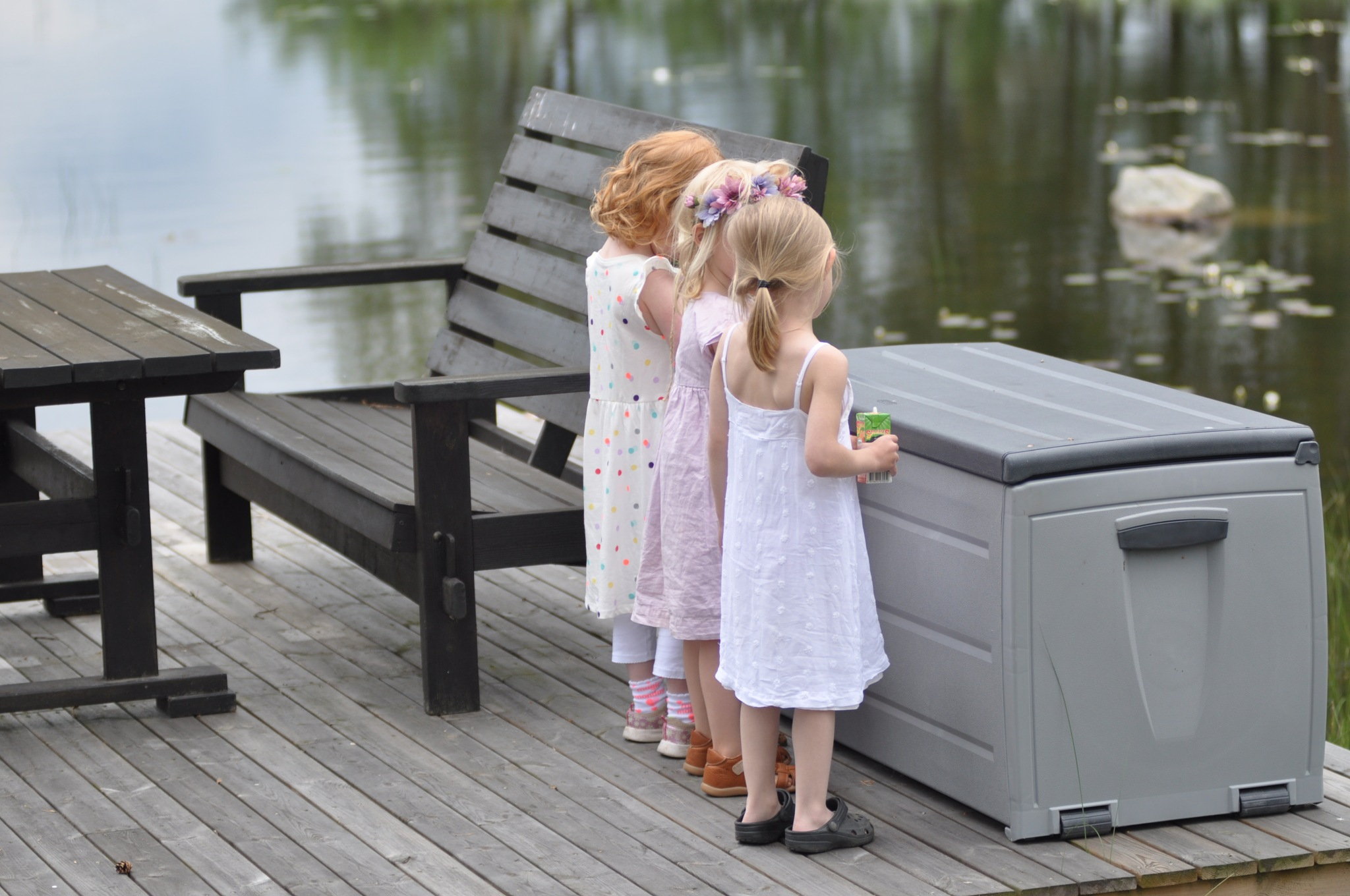 Midsummer girls! by Kristian Lindholm