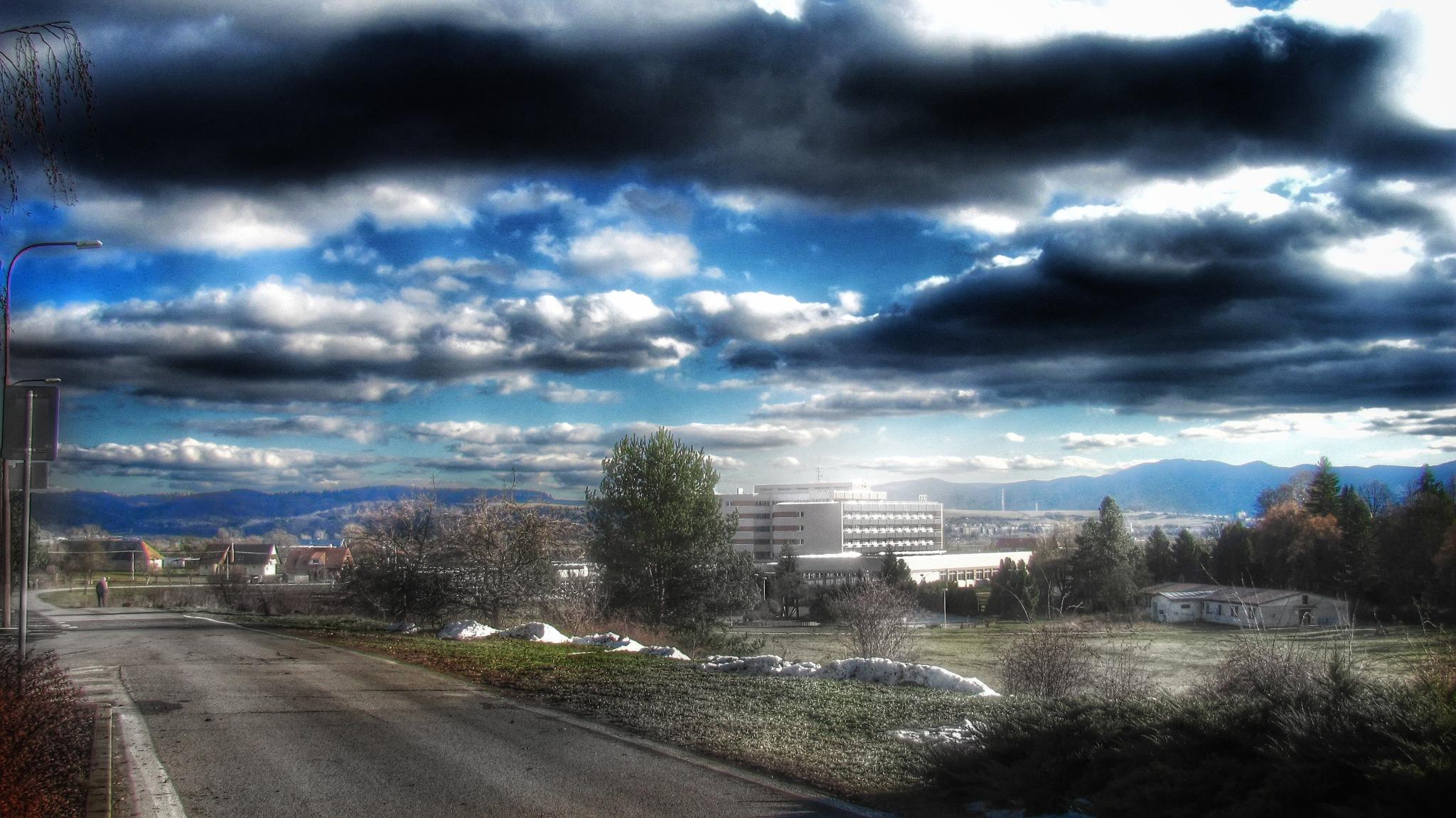 cloudy sky by Michal Dunaj