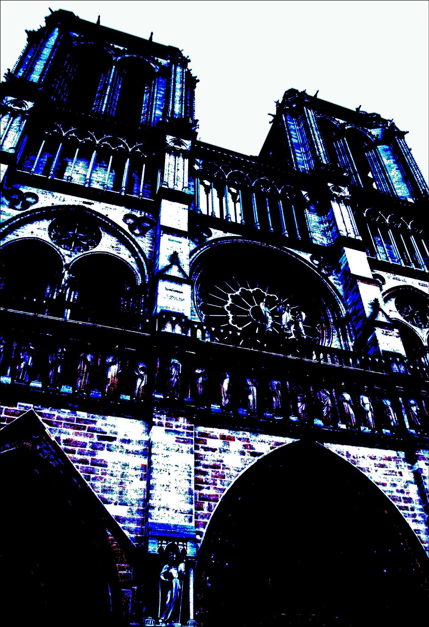 Notre - Dame de Paris by claire lafontaine