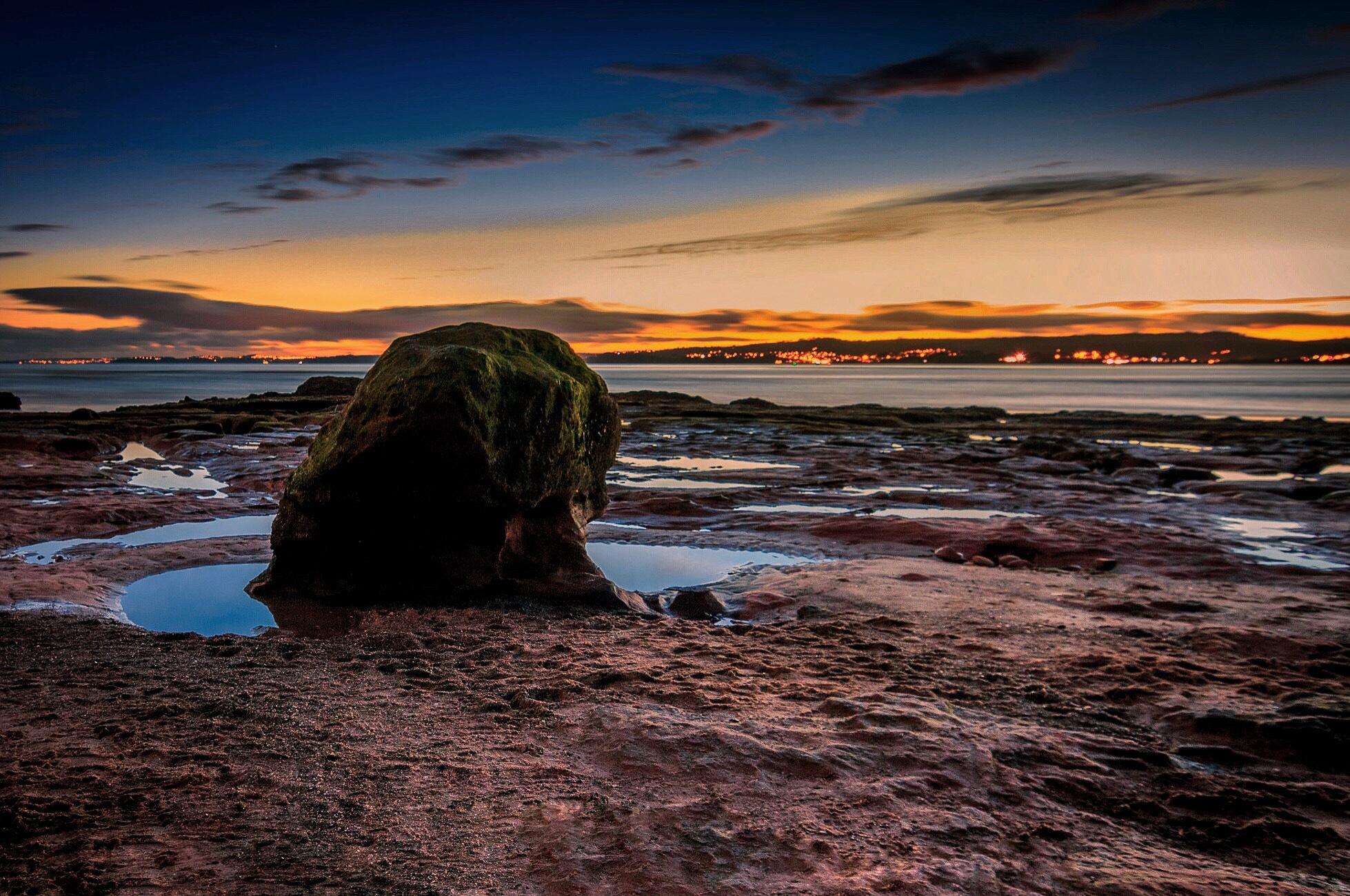 Exmouth beach uk by Achref ghanmi