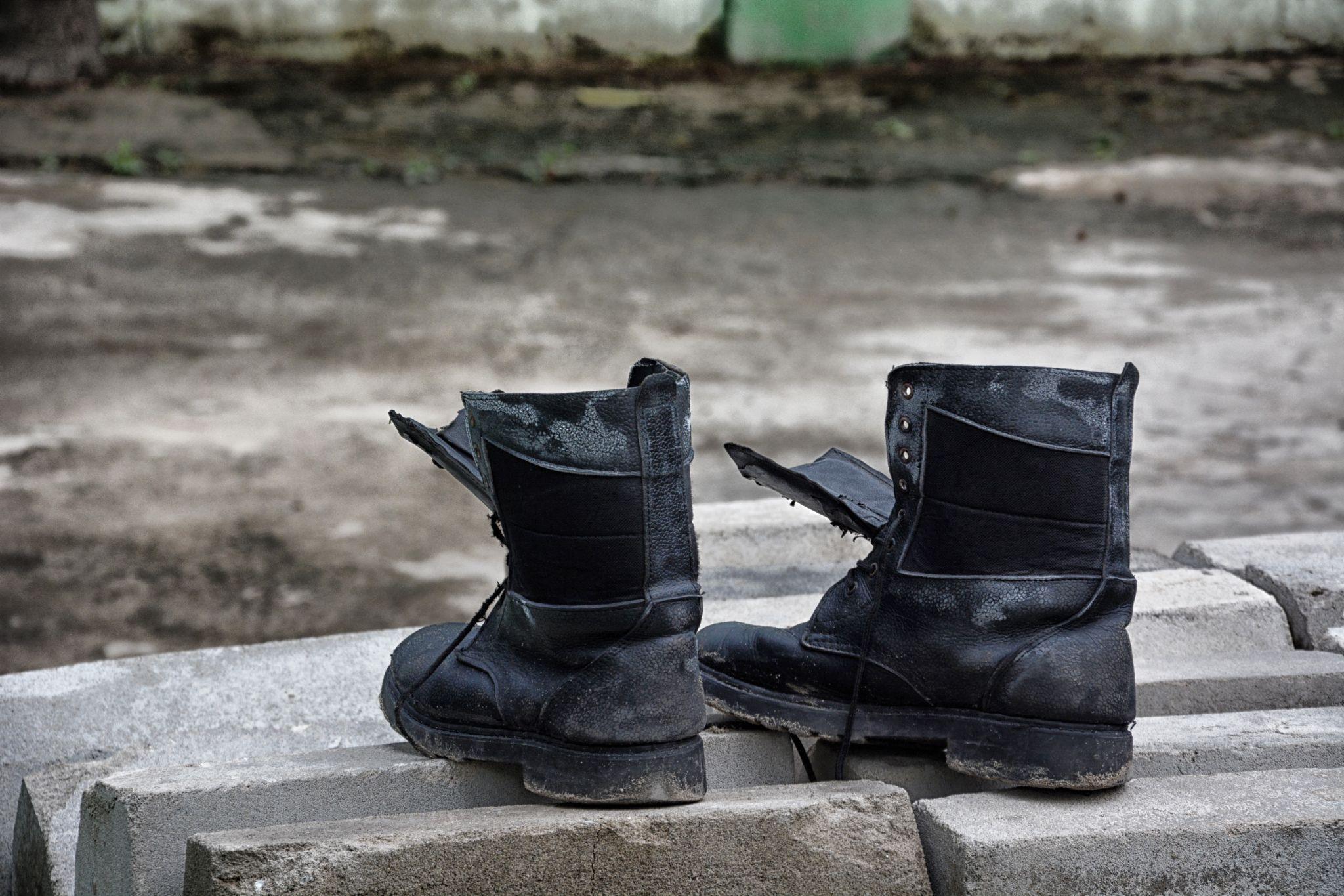 boots by Hakan Leblebicioglu