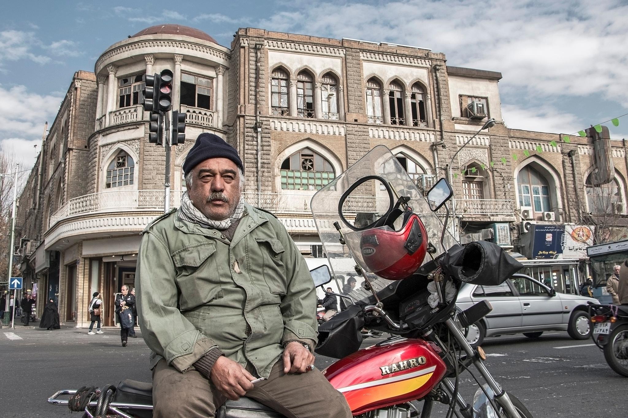 One day on Laleh Zar Street by asghar asem