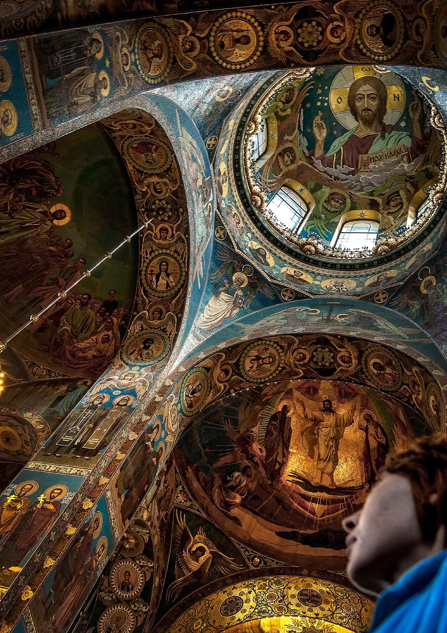 Fresco of an Orthodox church .... by Al (Alexander)