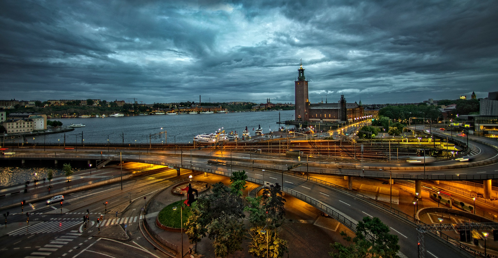 Early evening in Stockholm. by Al (Alexander)