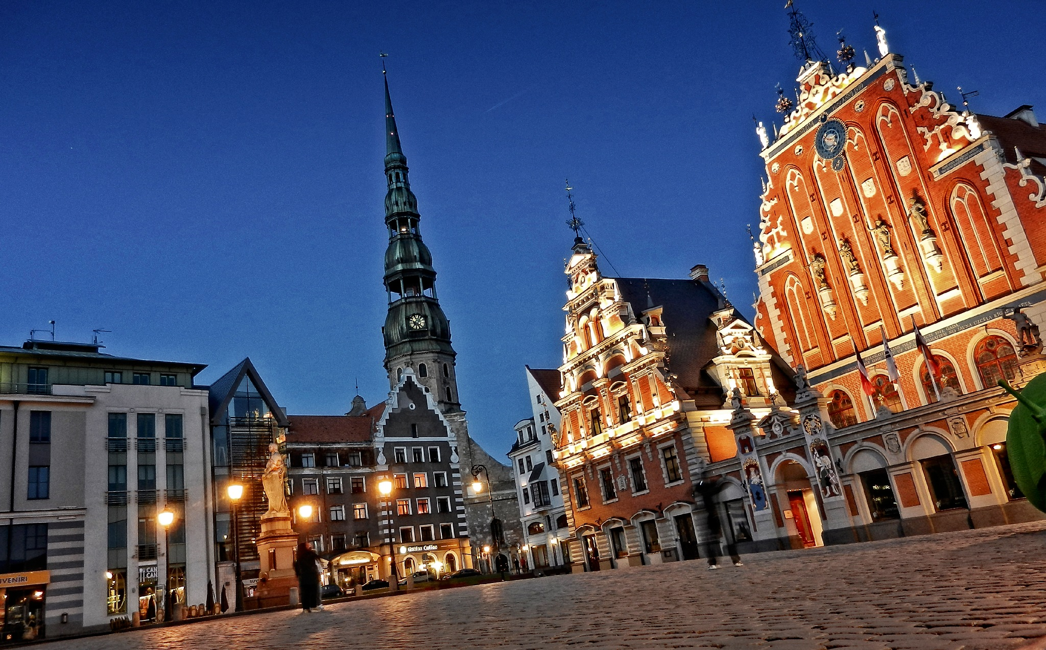 Evening in Old Riga. Latvia by Al (Alexander)