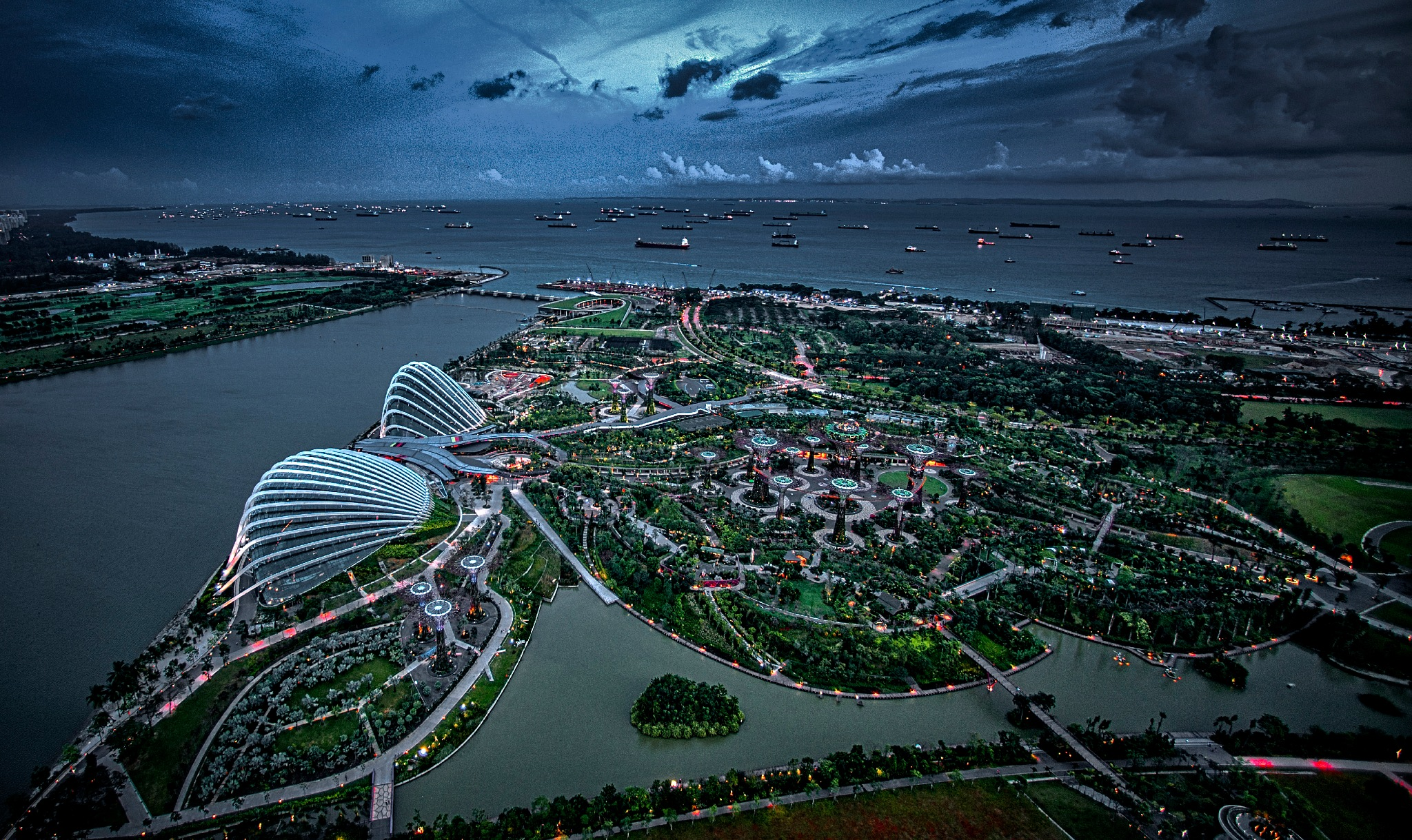 Gardens by the Bay. Singapore by Al (Alexander)