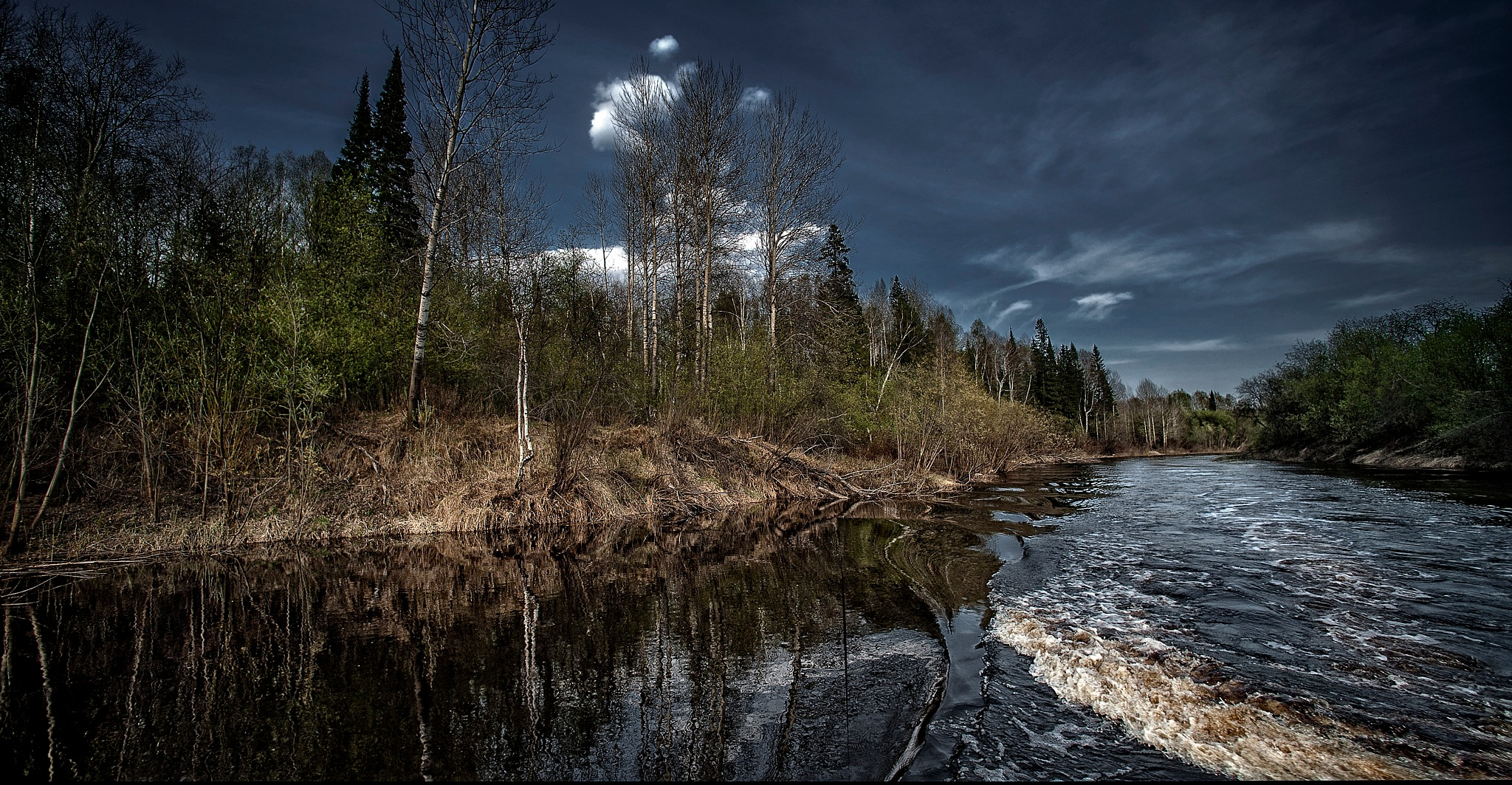 Small river in Siberia. by Al (Alexander)