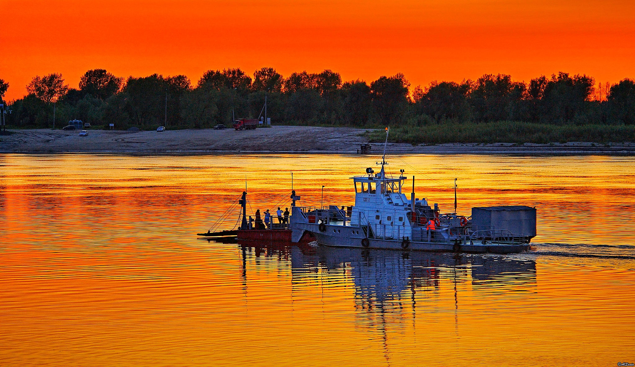 On Irtysh river. Siberia. Russia by Al (Alexander)