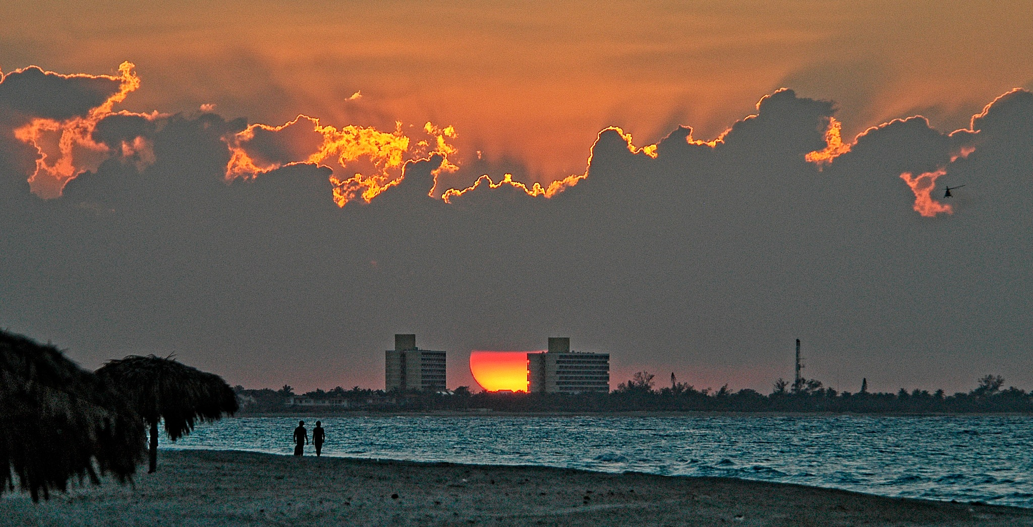Sunset for two. Varadero. Cuba. by Al (Alexander)