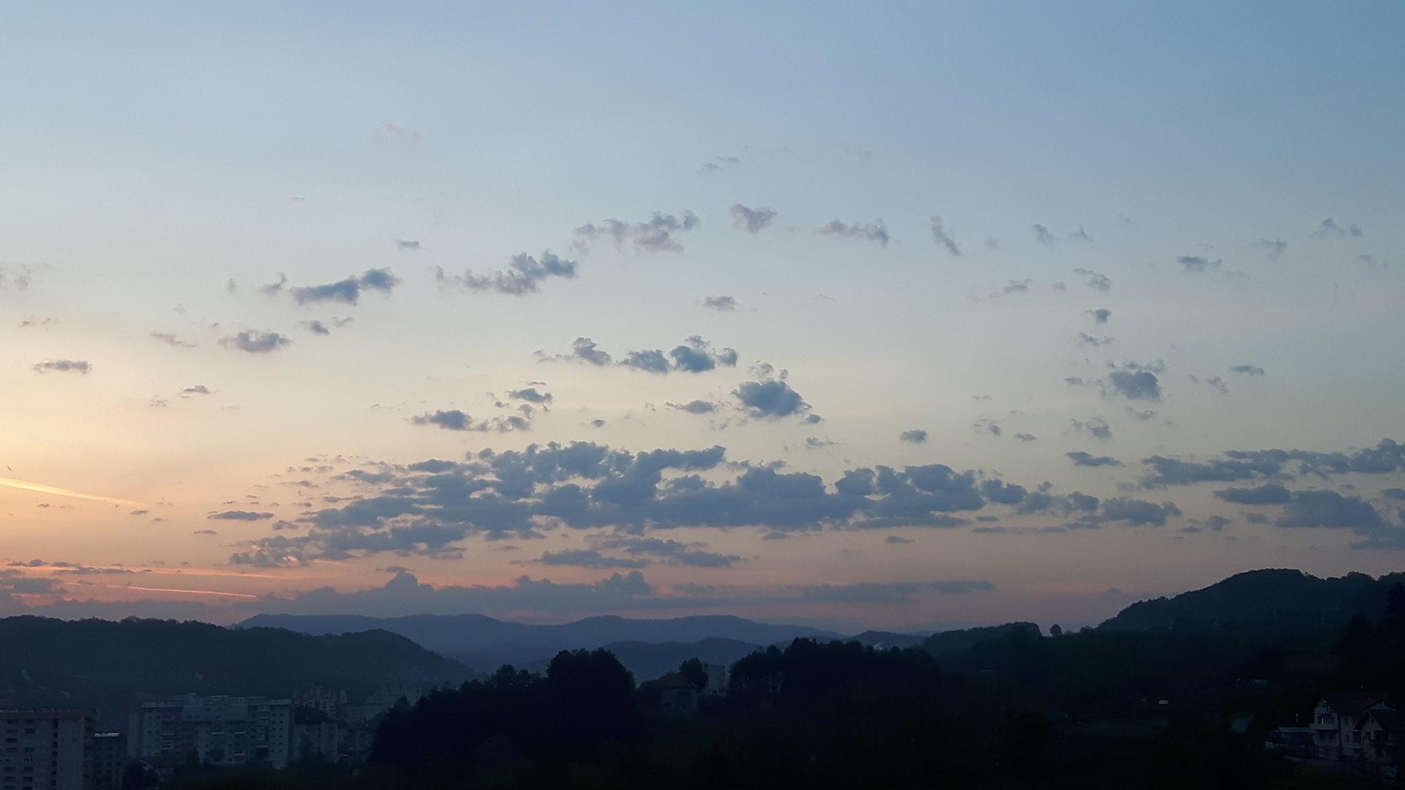 Dawning above Slavinovići by Mevludin_Hasanovic