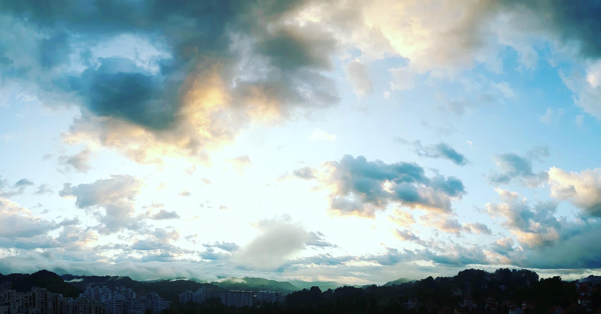 Beautiful dawn by Mevludin_Hasanovic