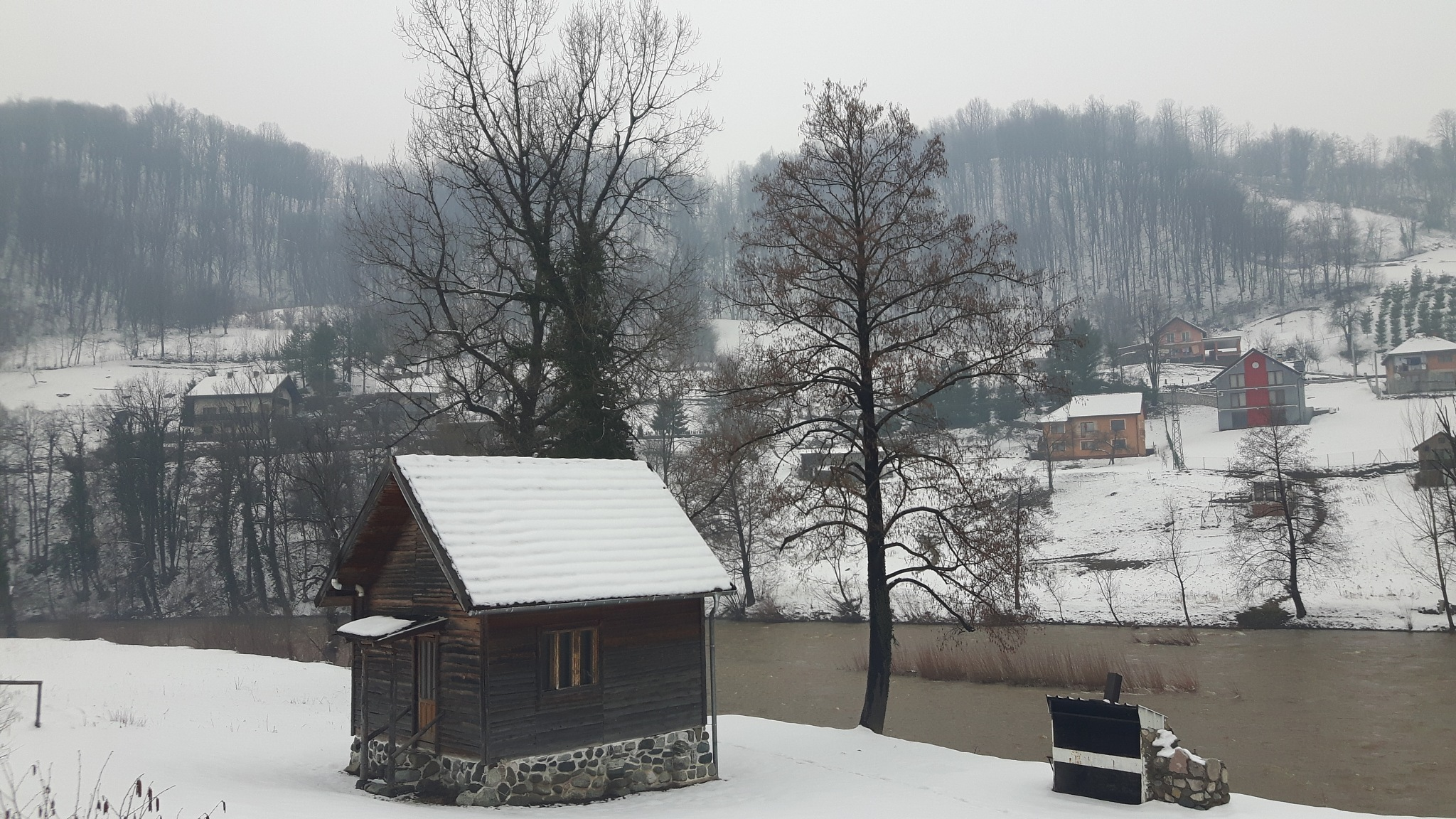 Winter haven besdes river Krivaja by Mevludin_Hasanovic