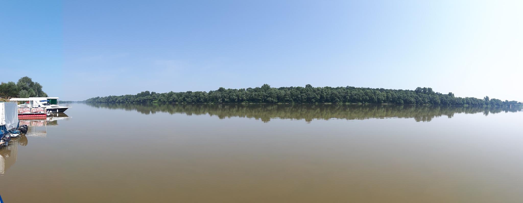 River Sava. Panoramic view. by Mevludin_Hasanovic