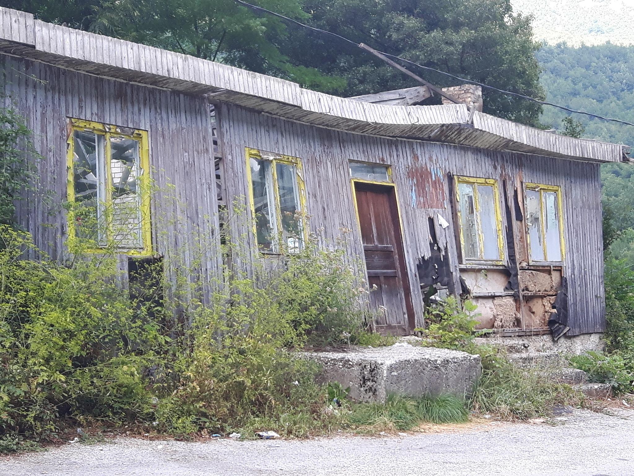 An old contruction on Montenegro-Bosnia&Herzegovina border by Mevludin_Hasanovic