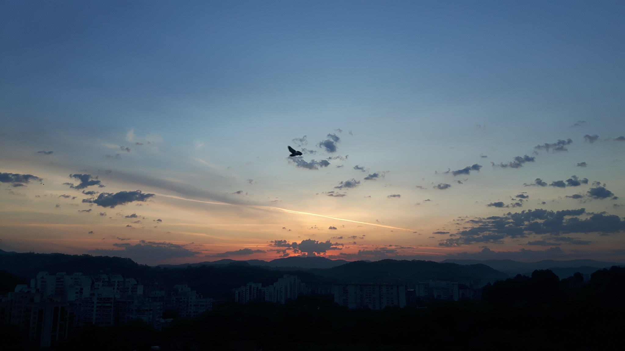 Beautiful Thuesday dawning sky by Mevludin_Hasanovic