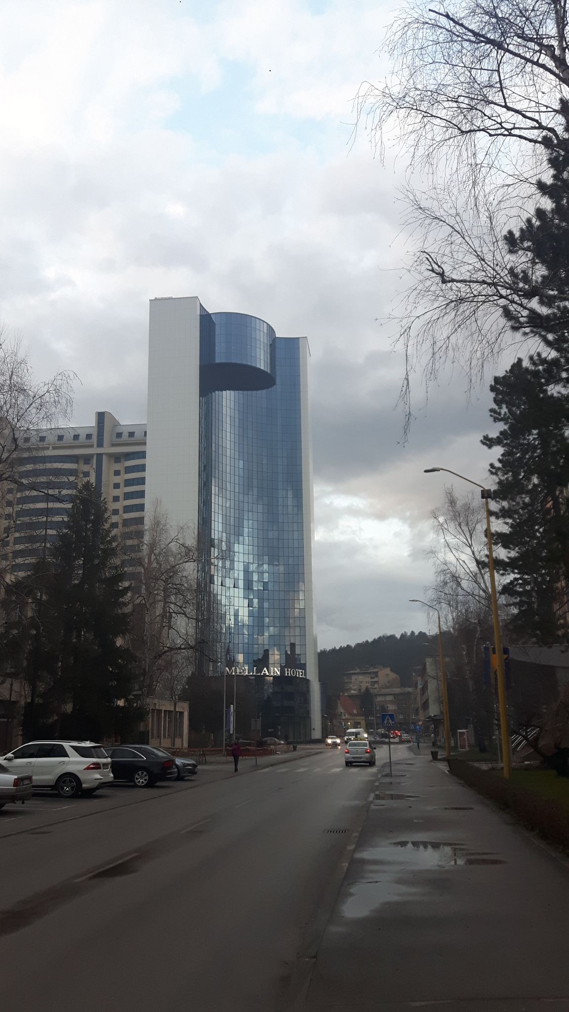 Cloudy weather and Mellain hotel by Mevludin_Hasanovic