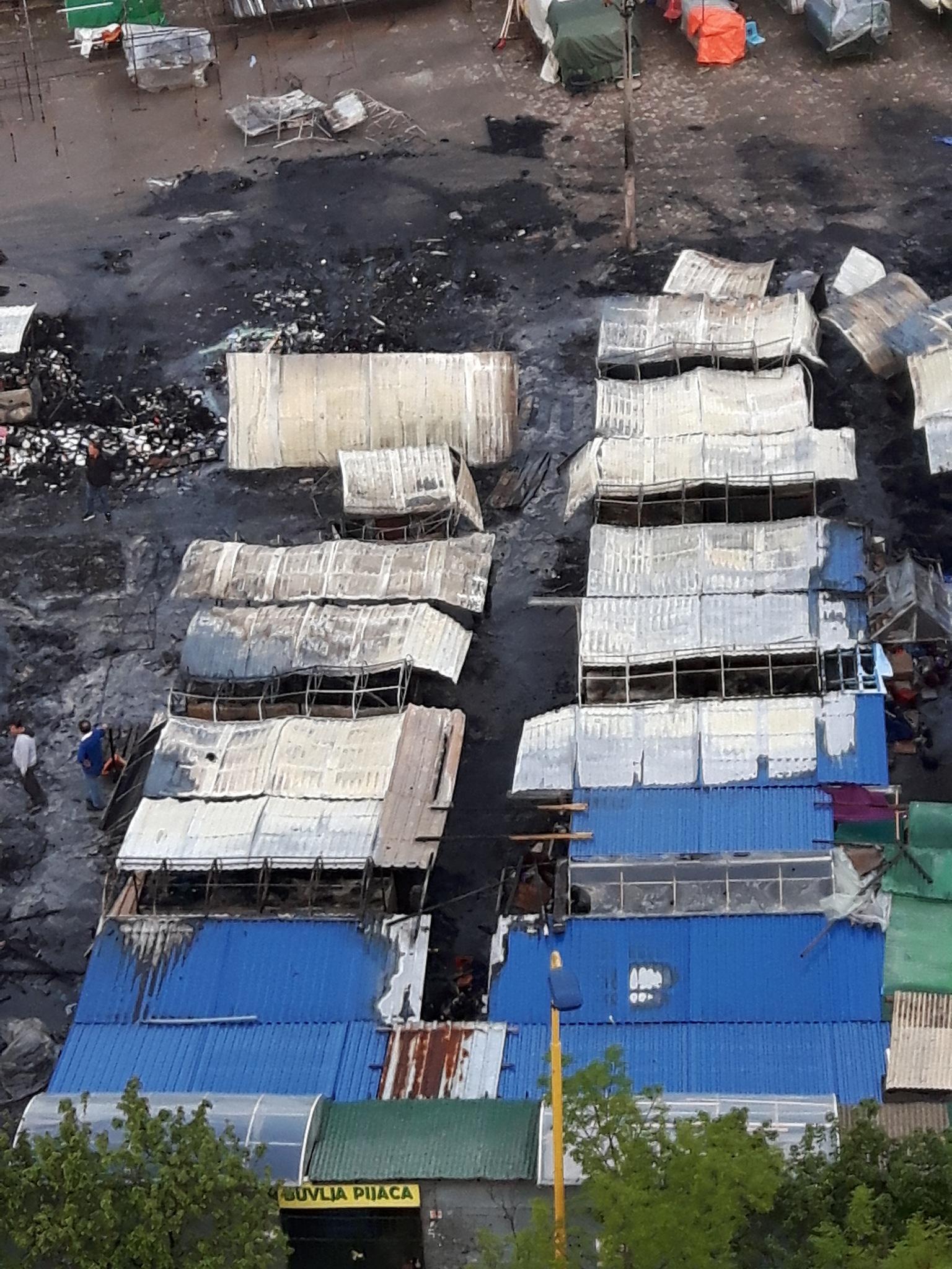 After fire on Hametova market by Mevludin_Hasanovic