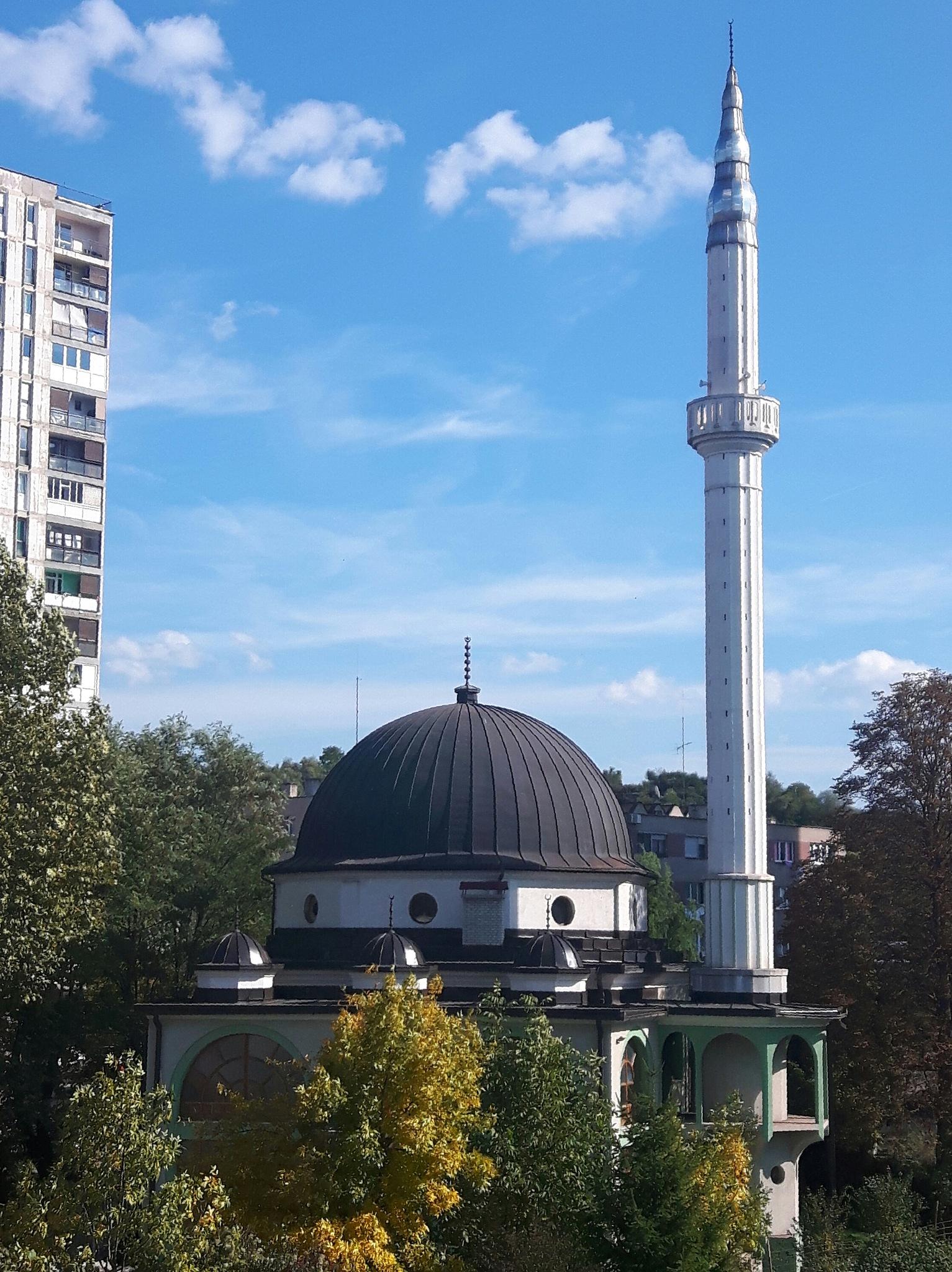 Mosque in Blatuša, Zenica by Mevludin_Hasanovic